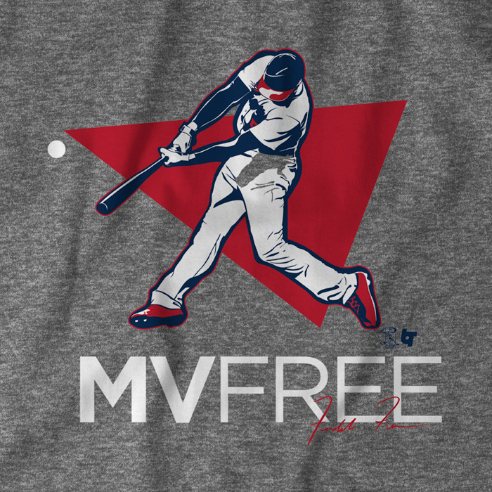 Introducing the Freddie Freeman MVFree T-shirt from Breaking T 191c9bfdf