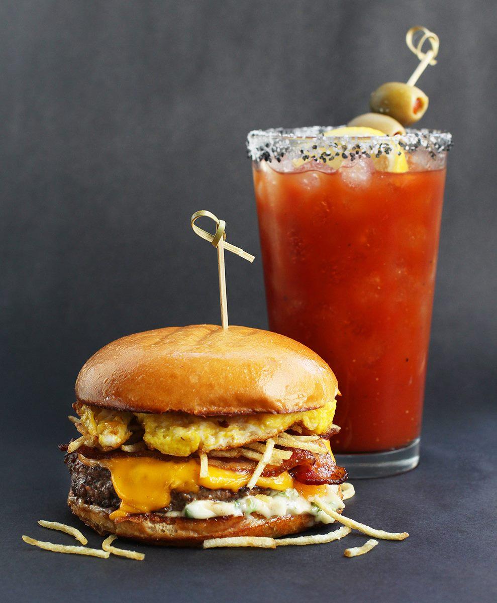 Hopdoddy Burger Bar's breakfast burger