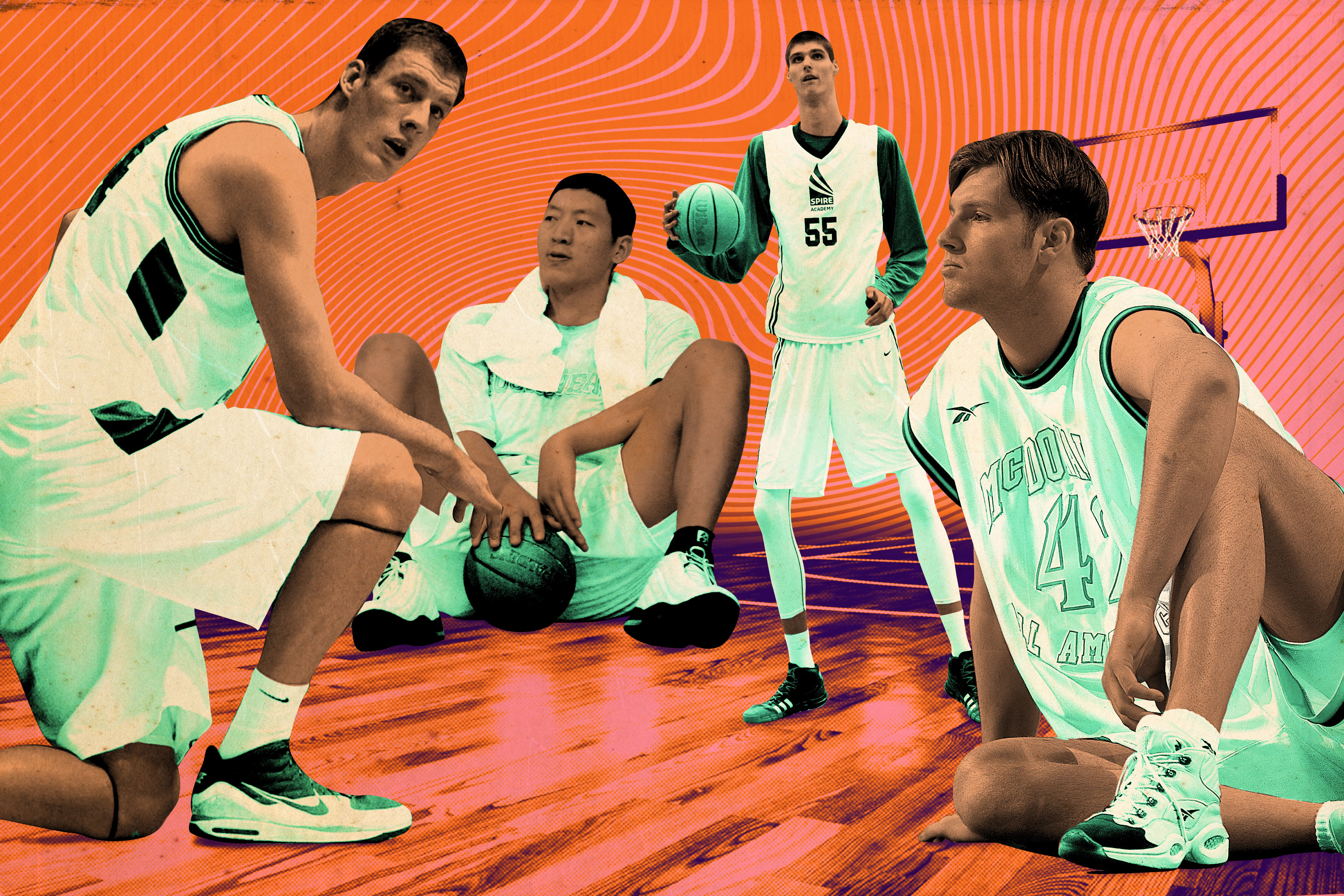 d1a866eab5eee The Tall Tales of Six Men Too Big for Basketball - The Ringer