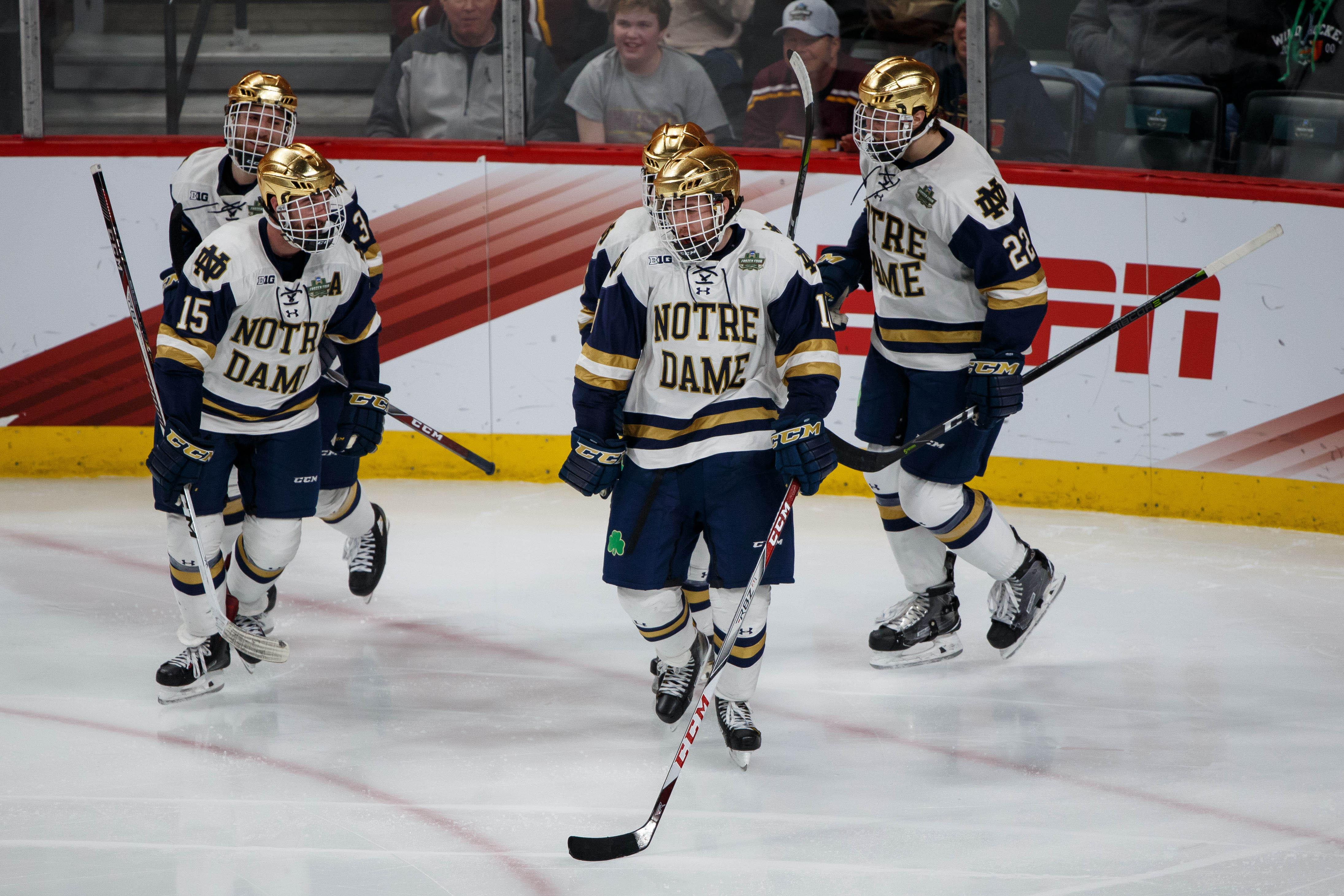 NCAA Hockey: Frozen Four-Michigan vs Notre Dame