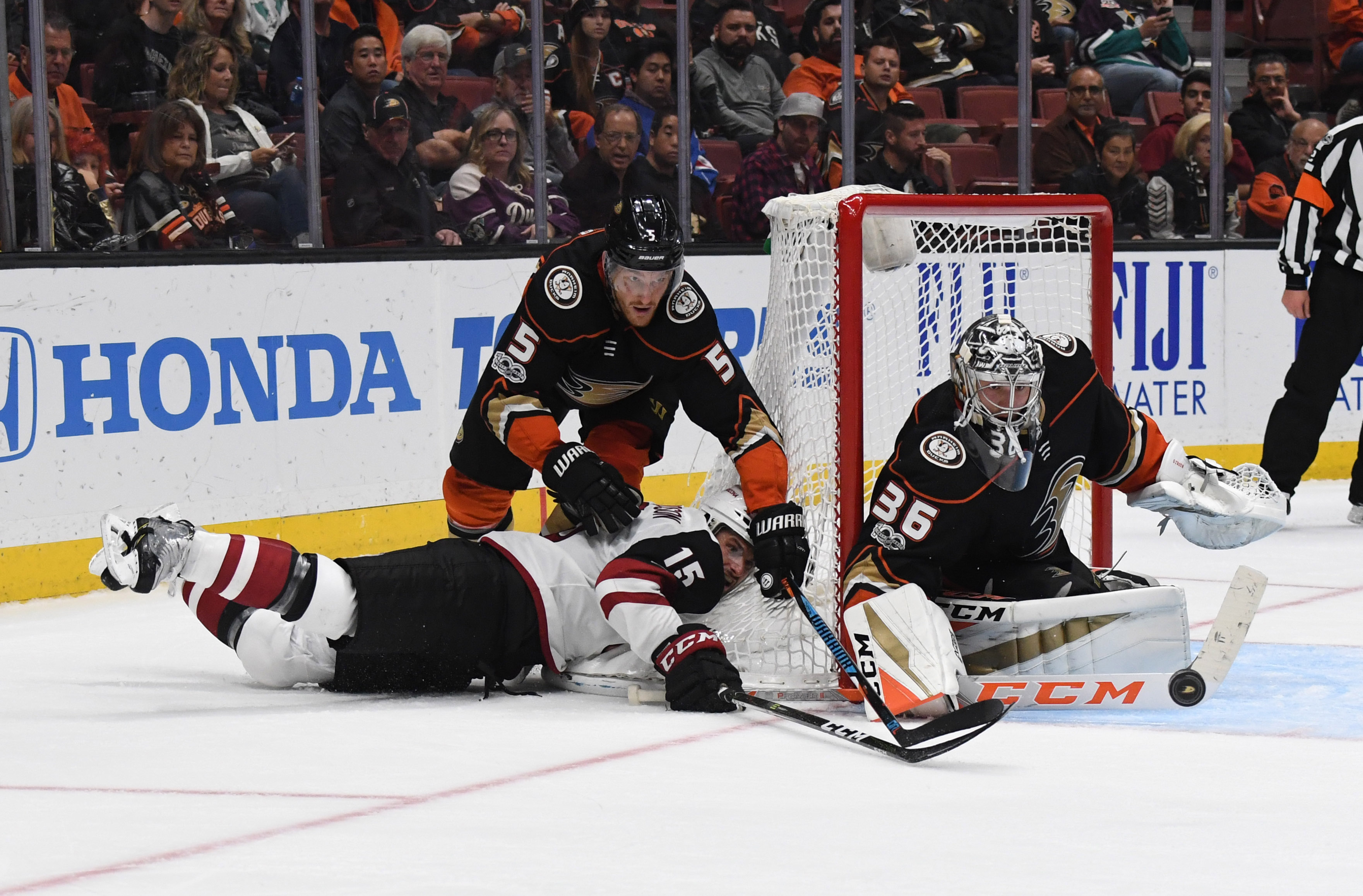 NHL: Arizona Coyotes at Anaheim Ducks