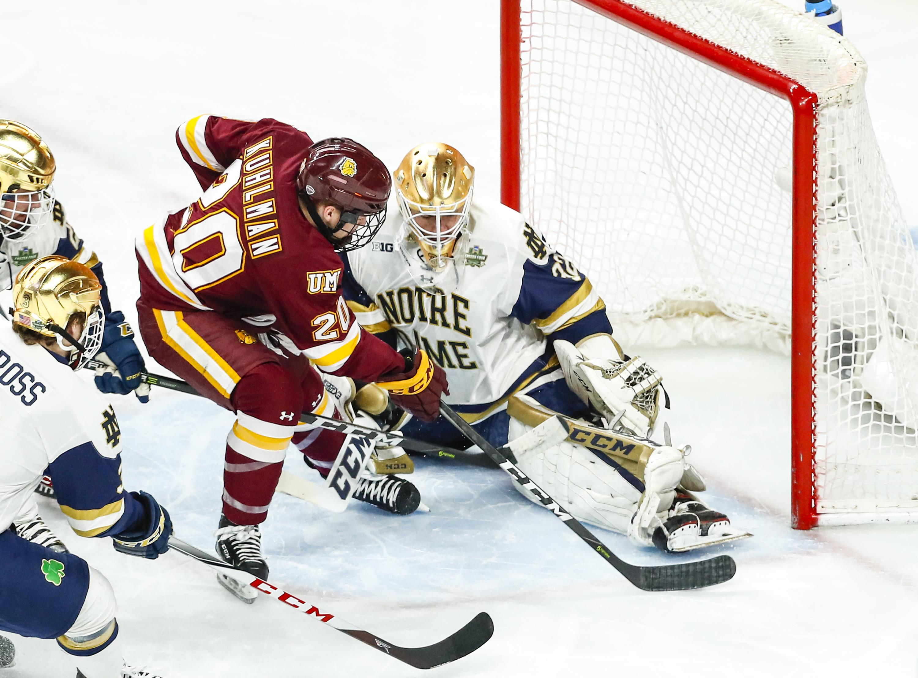 Locals Lead Minnesota Duluth To Second Men's National Title
