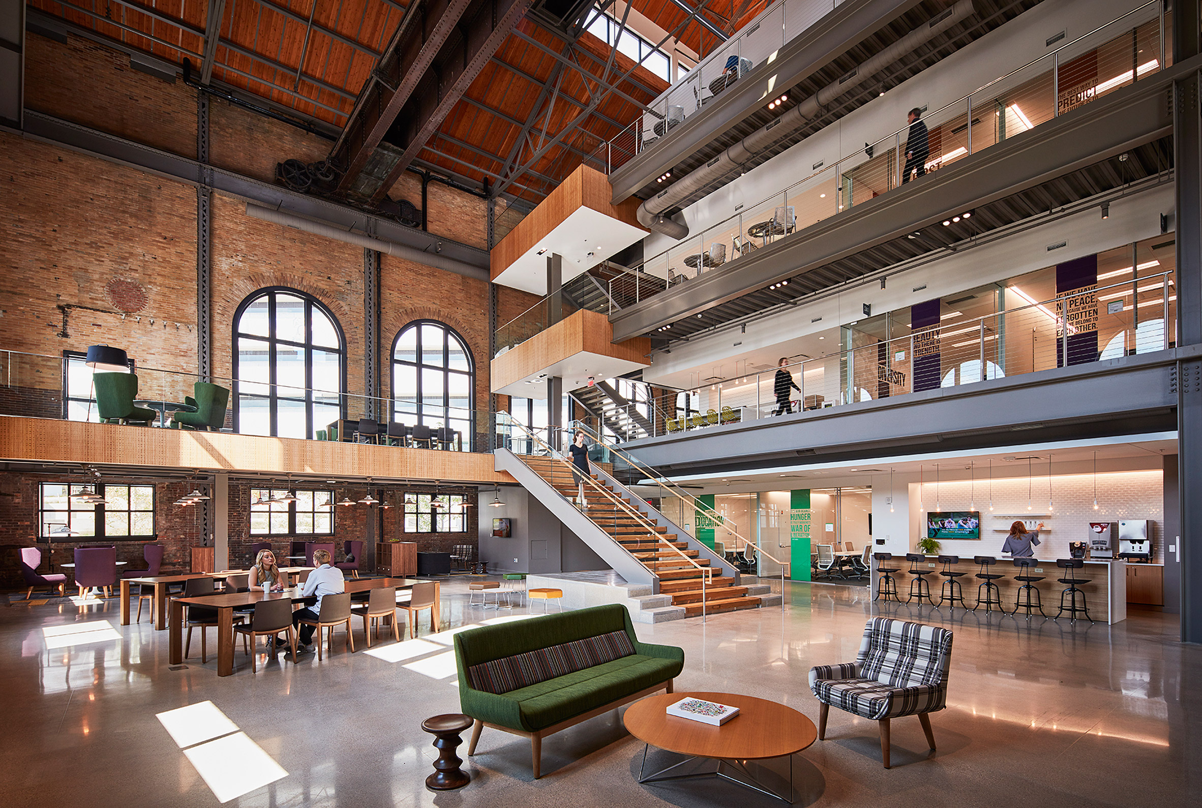modern office space cool design. Gorgeous Renovation Turns Old Steam Factory Into Modern Office Space Cool Design C
