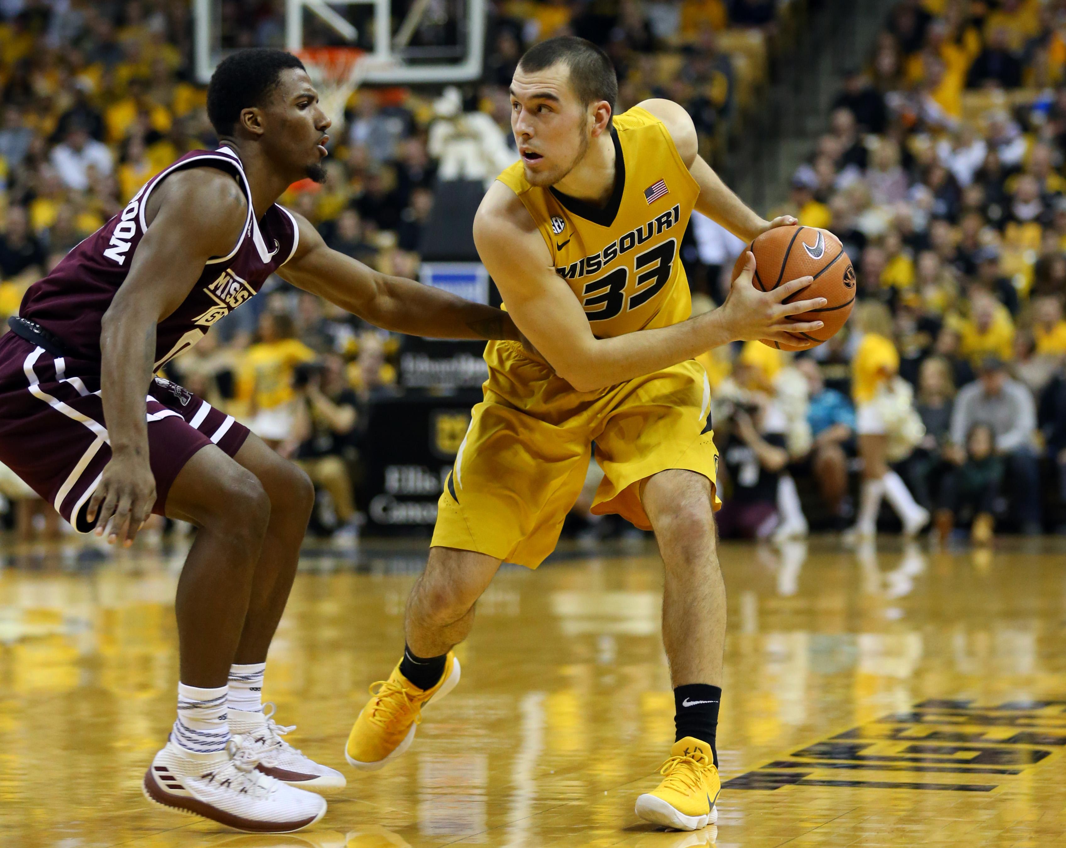 NCAA Basketball: Mississippi State at Missouri