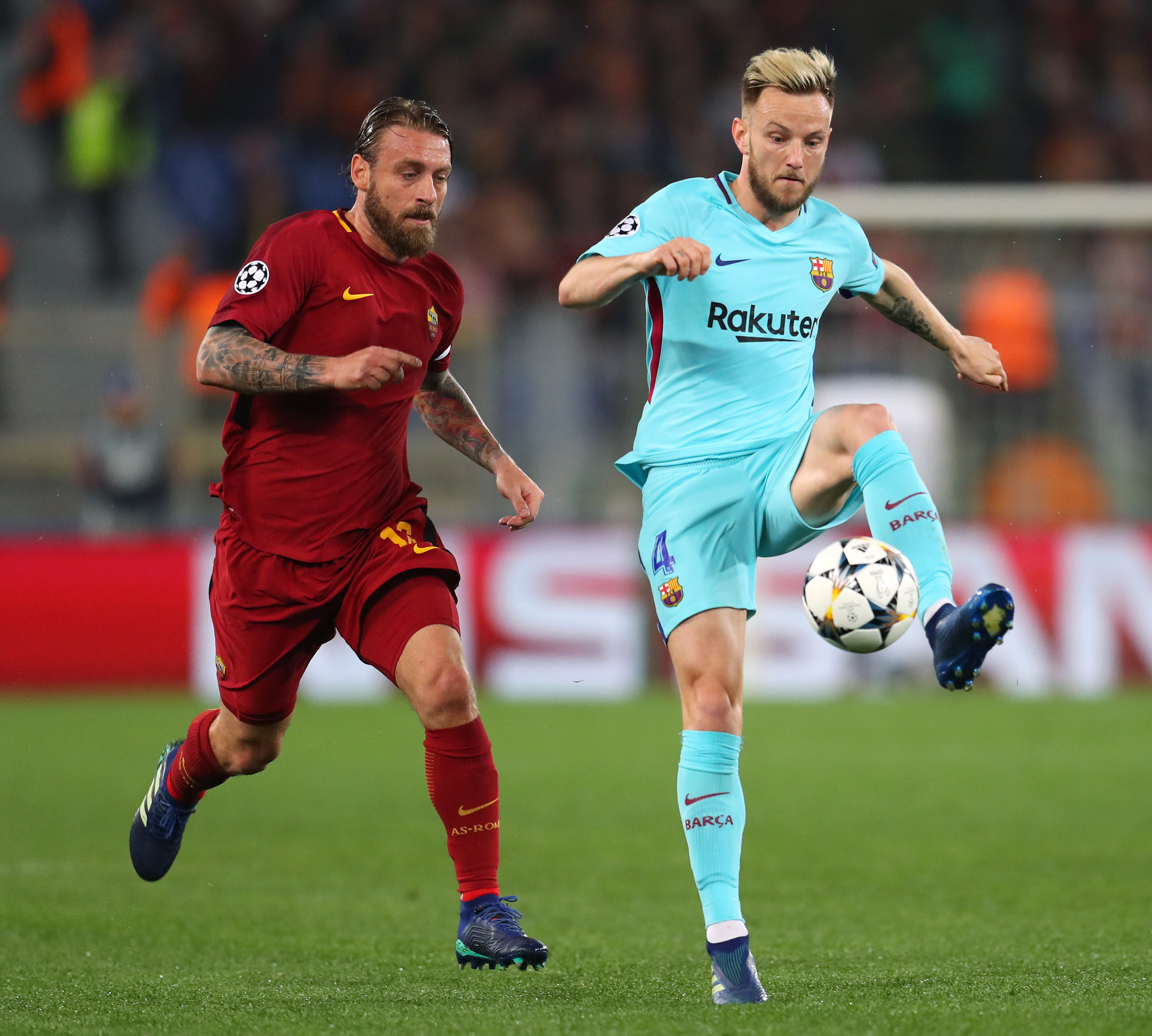 Champions League Roma Vs Barcelona