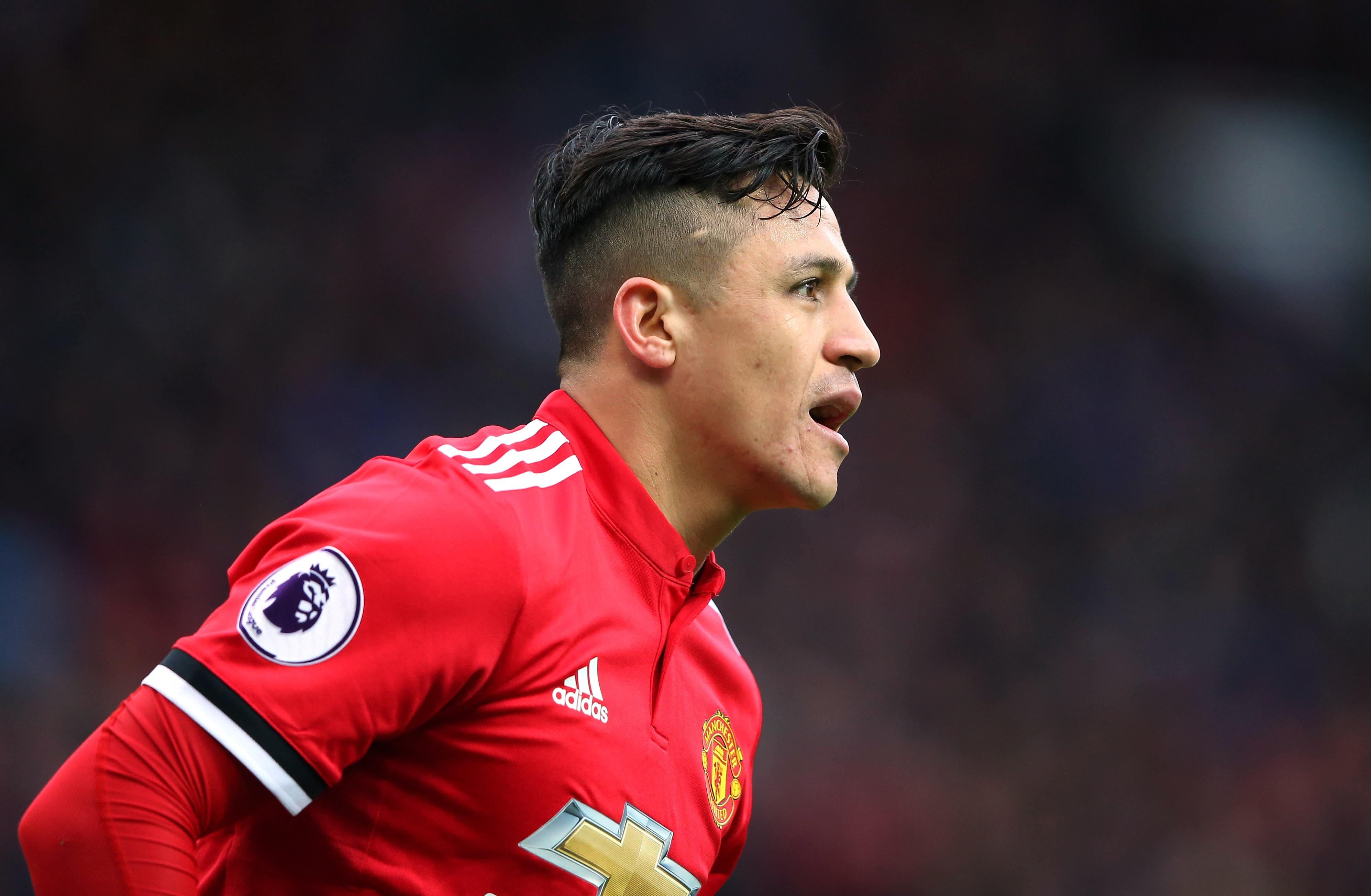 Alexis Sanchez -Manchester United - Premier League