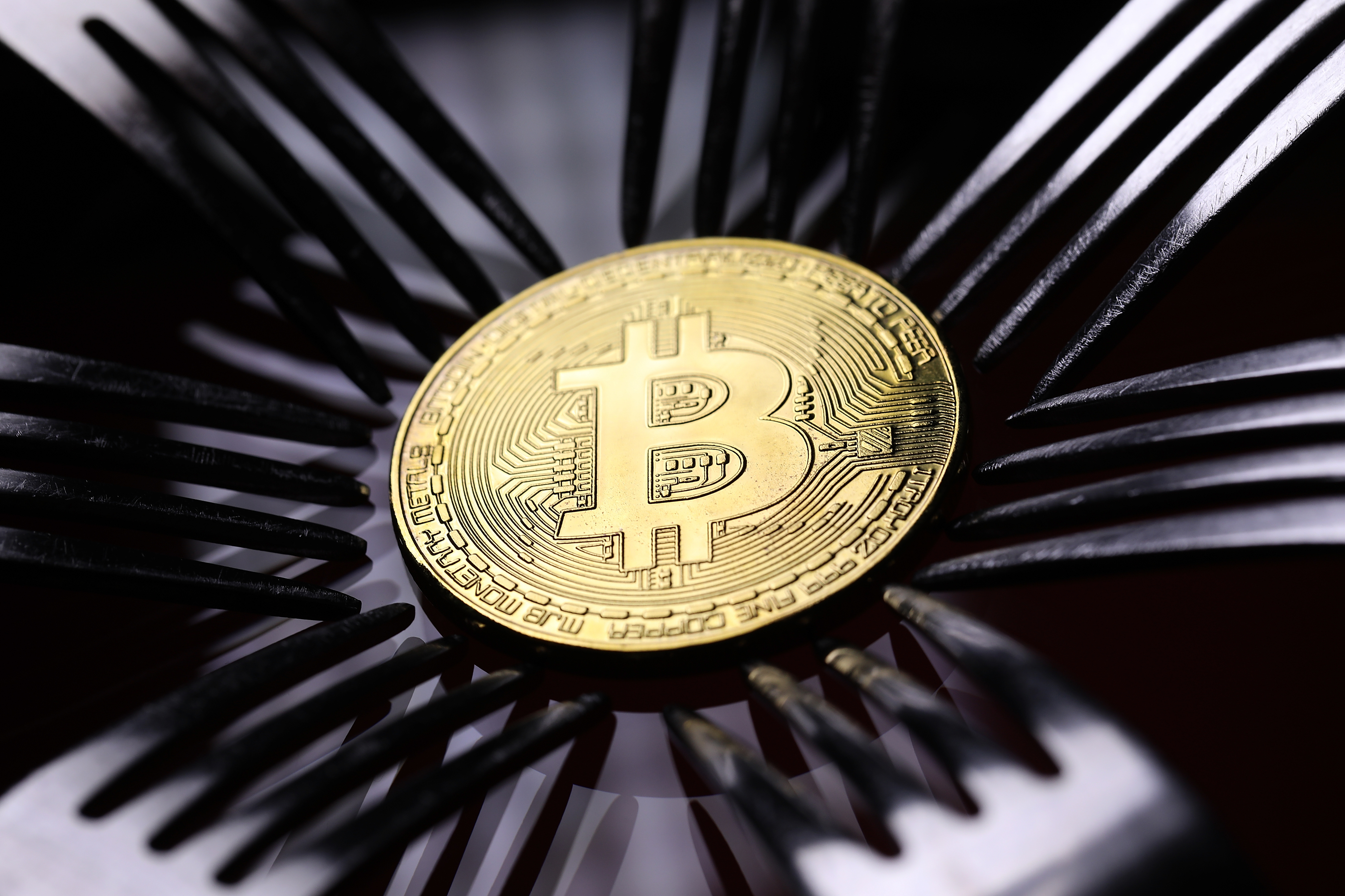 A visual representation of the digital Cryptocurrency, Bitcoin on December 07, 2017 in London, England. Cryptocurrencies including Bitcoin, Ethereum, and Lightcoin have seen unprecedented growth in 2017, despite remaining extremely volatile.