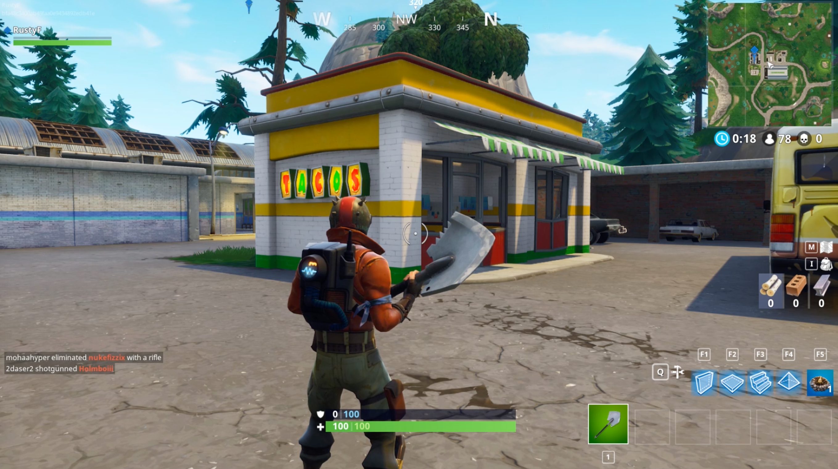taco shops in fortnite