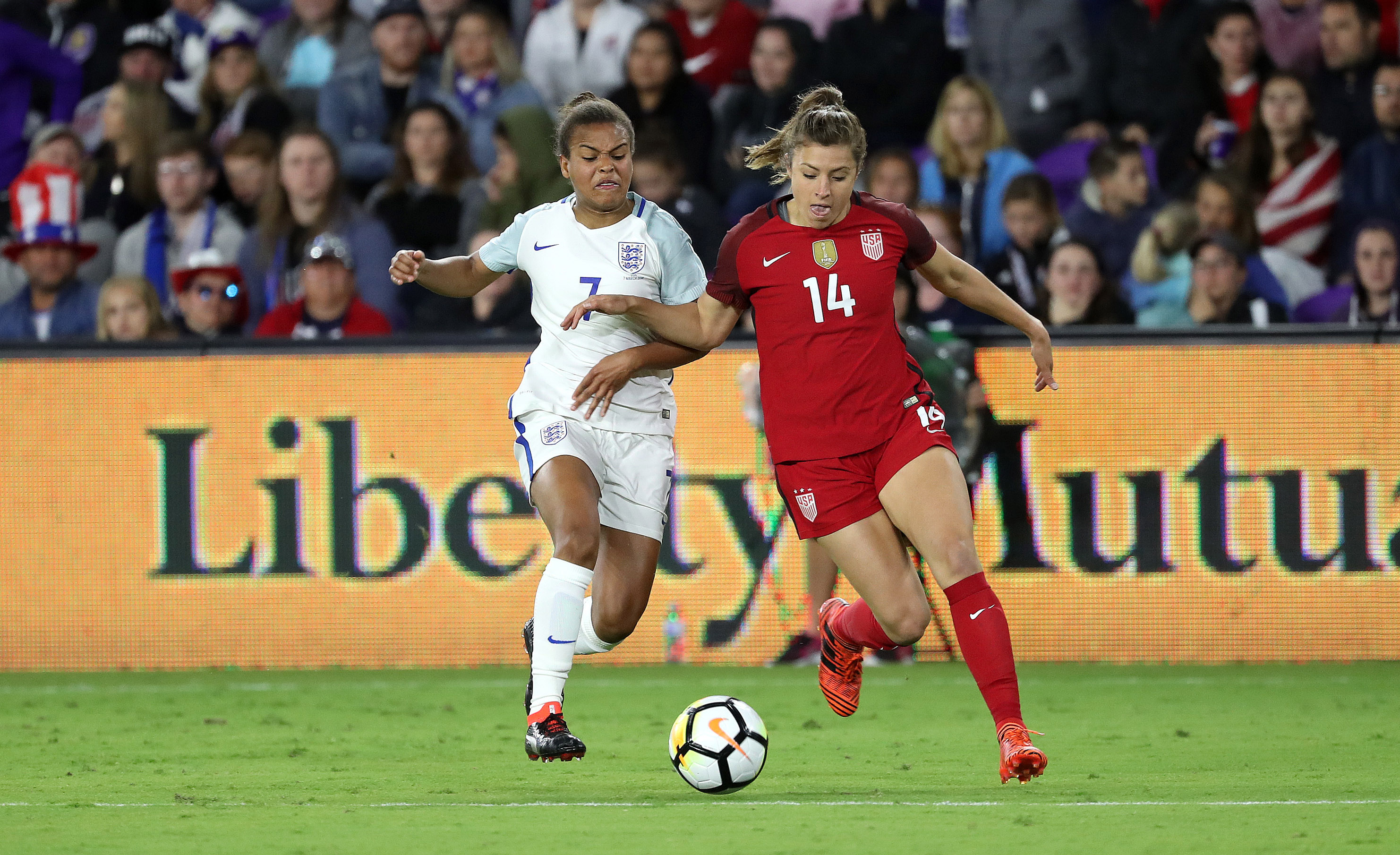 Soccer: She Believes Cup Womens Soccer -England at USA