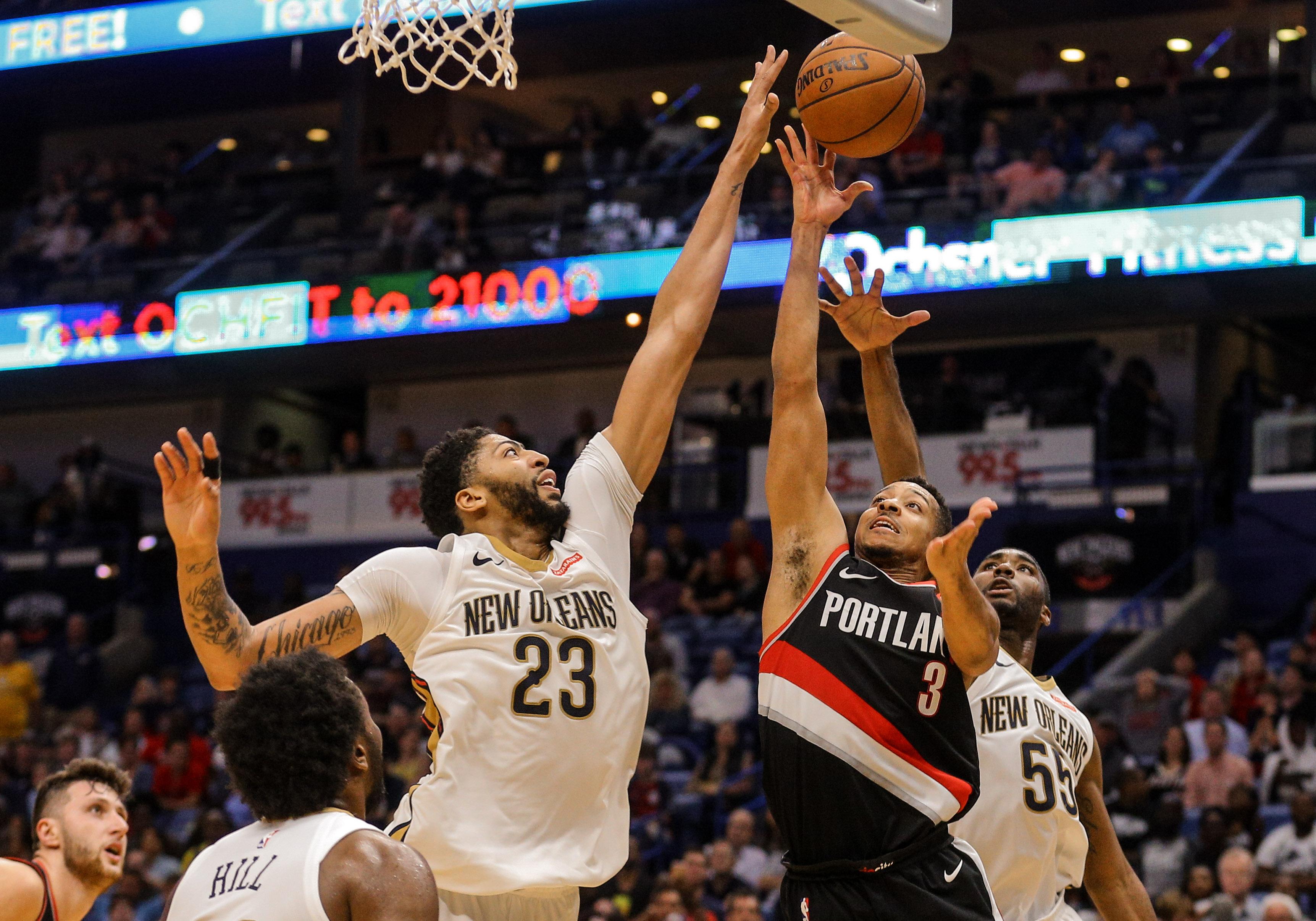NBA: Portland Trail Blazers at New Orleans Pelicans