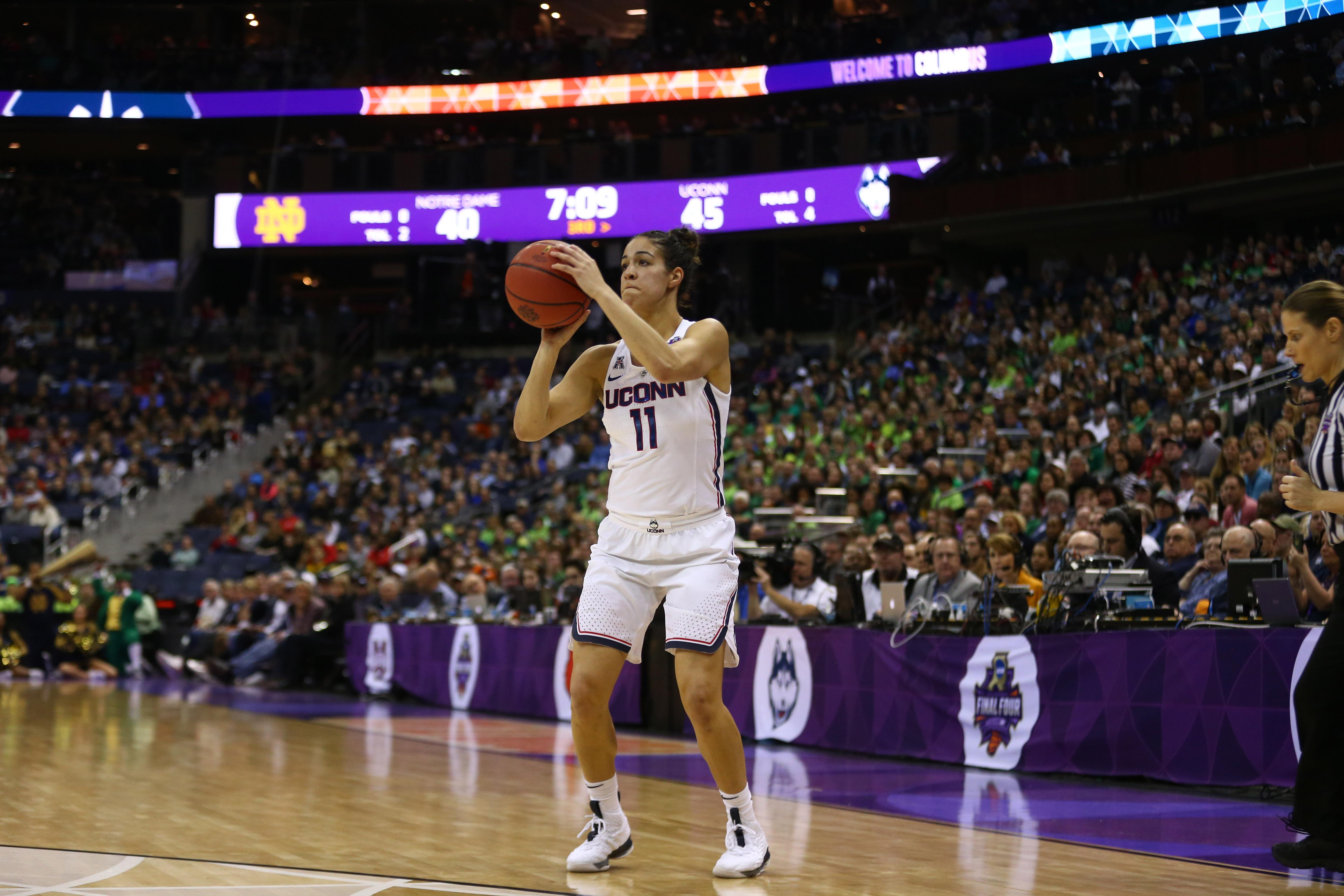 NCAA Womens Basketball: Final Four-Notre Dame vs Connecticut