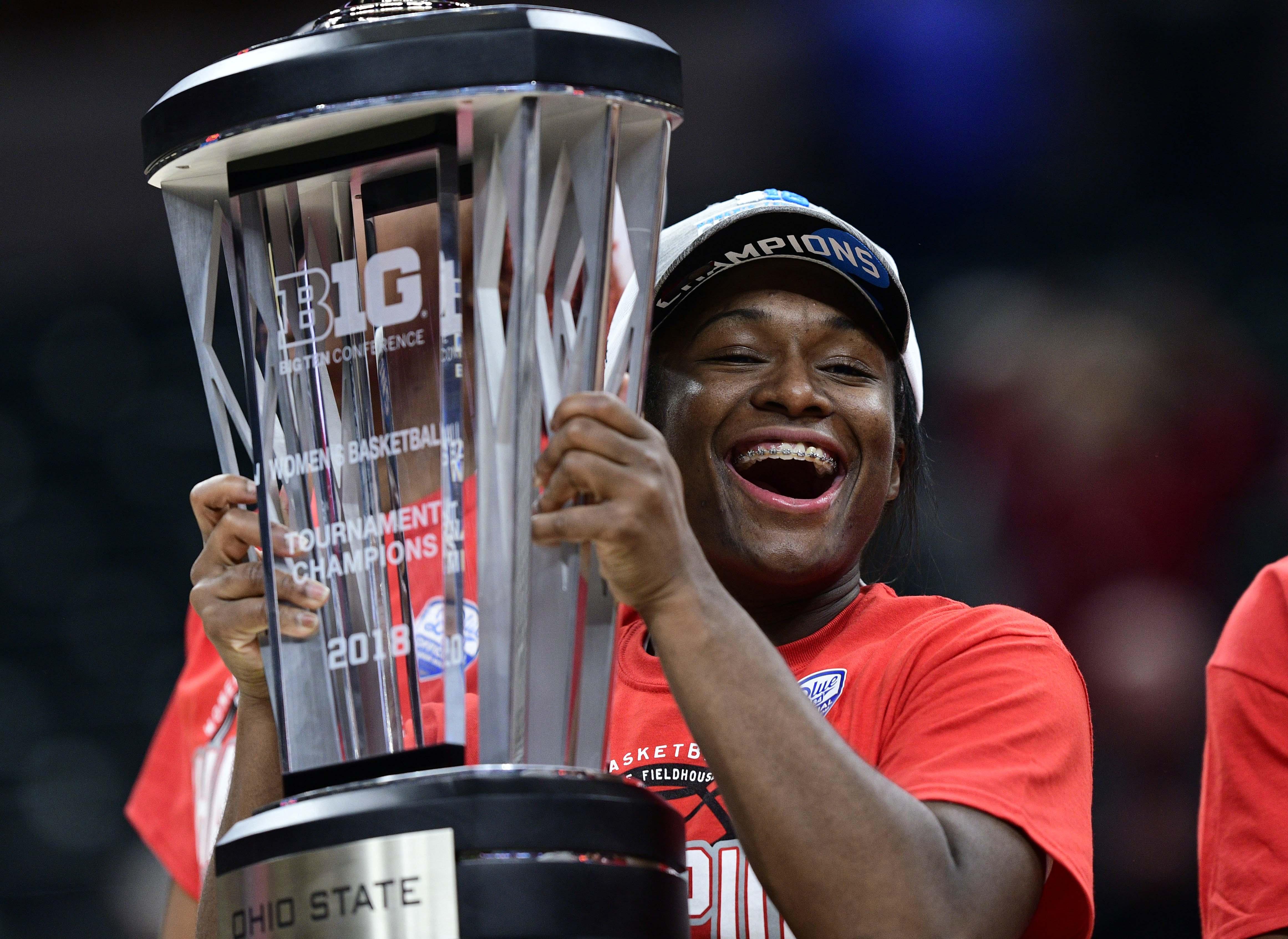 NCAA Womens Basketball: Big Ten Conference Tournament-Ohio State vs Maryland