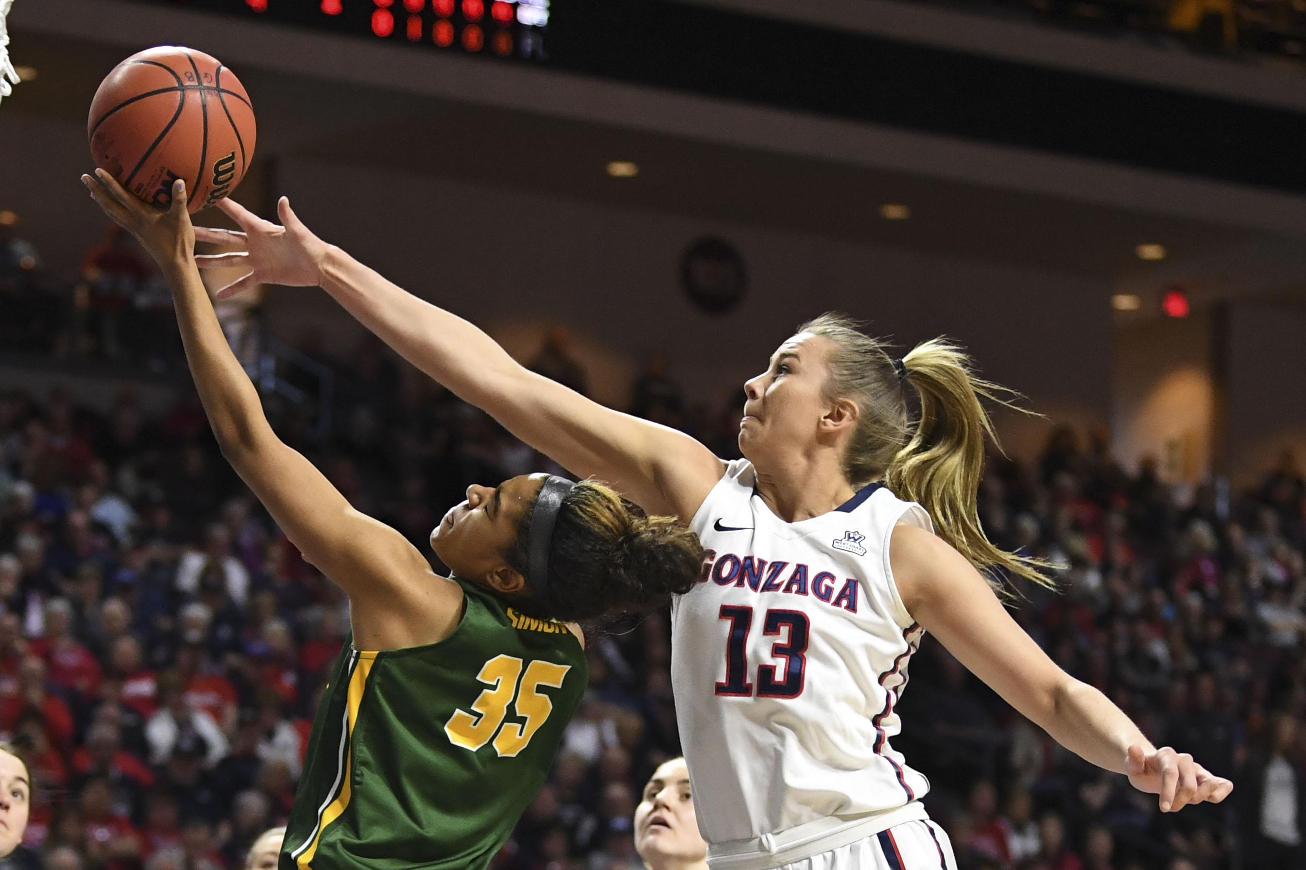 NCAA Womens Basketball: West Coast Conference Tournament-Gonzaga vs San Francisco