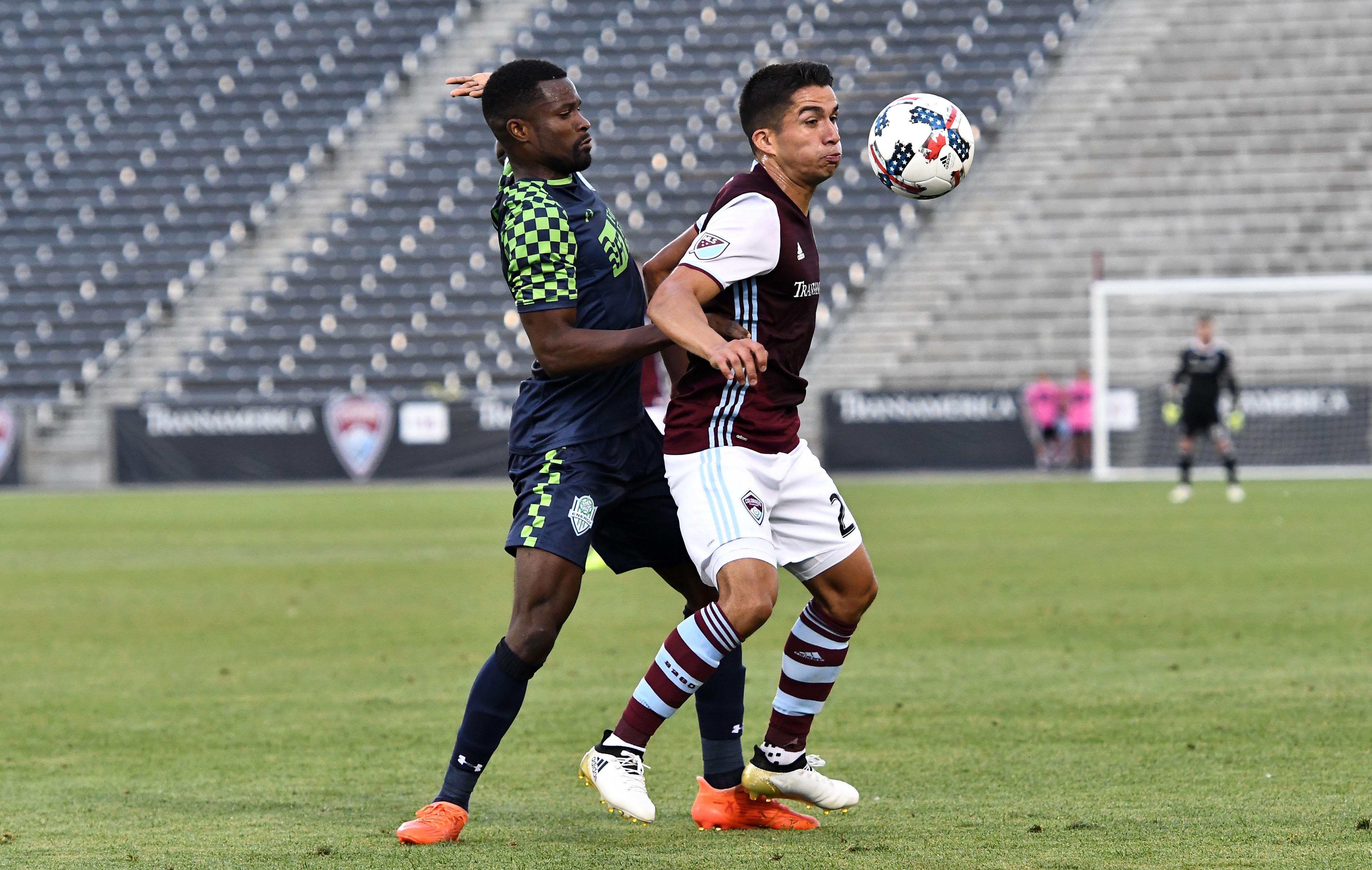 MLS: U.S. Open Cup-OKC Energy at Colorado Rapids