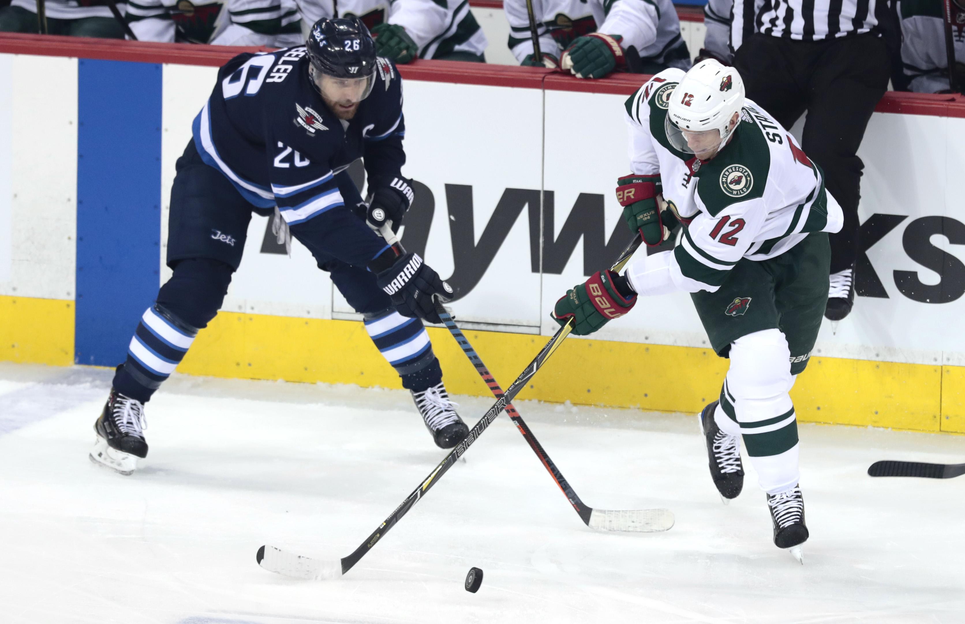 NHL: Stanley Cup Playoffs-Minnesota Wild at Winnipeg Jets