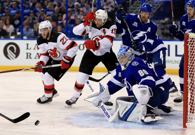 New Jersey Devils v Tampa Bay Lightning - Game One
