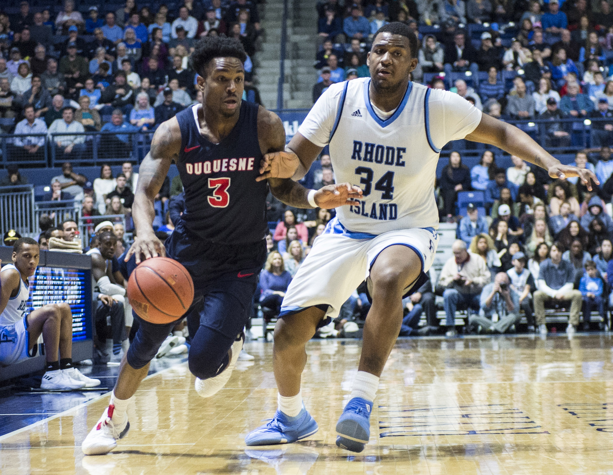 NCAA Basketball: Duquesne at Rhode Island