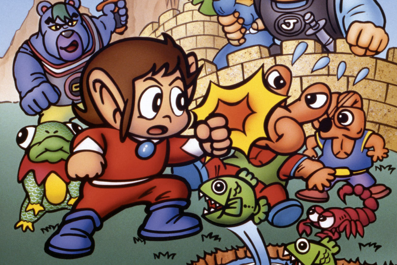Sega Ages for Switch expands with Alex Kidd, Gain Ground