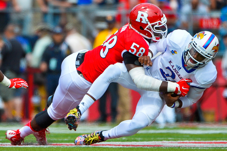 Rutgers EDGE Kemoko Turaysacks KansasQB Montell Cozart