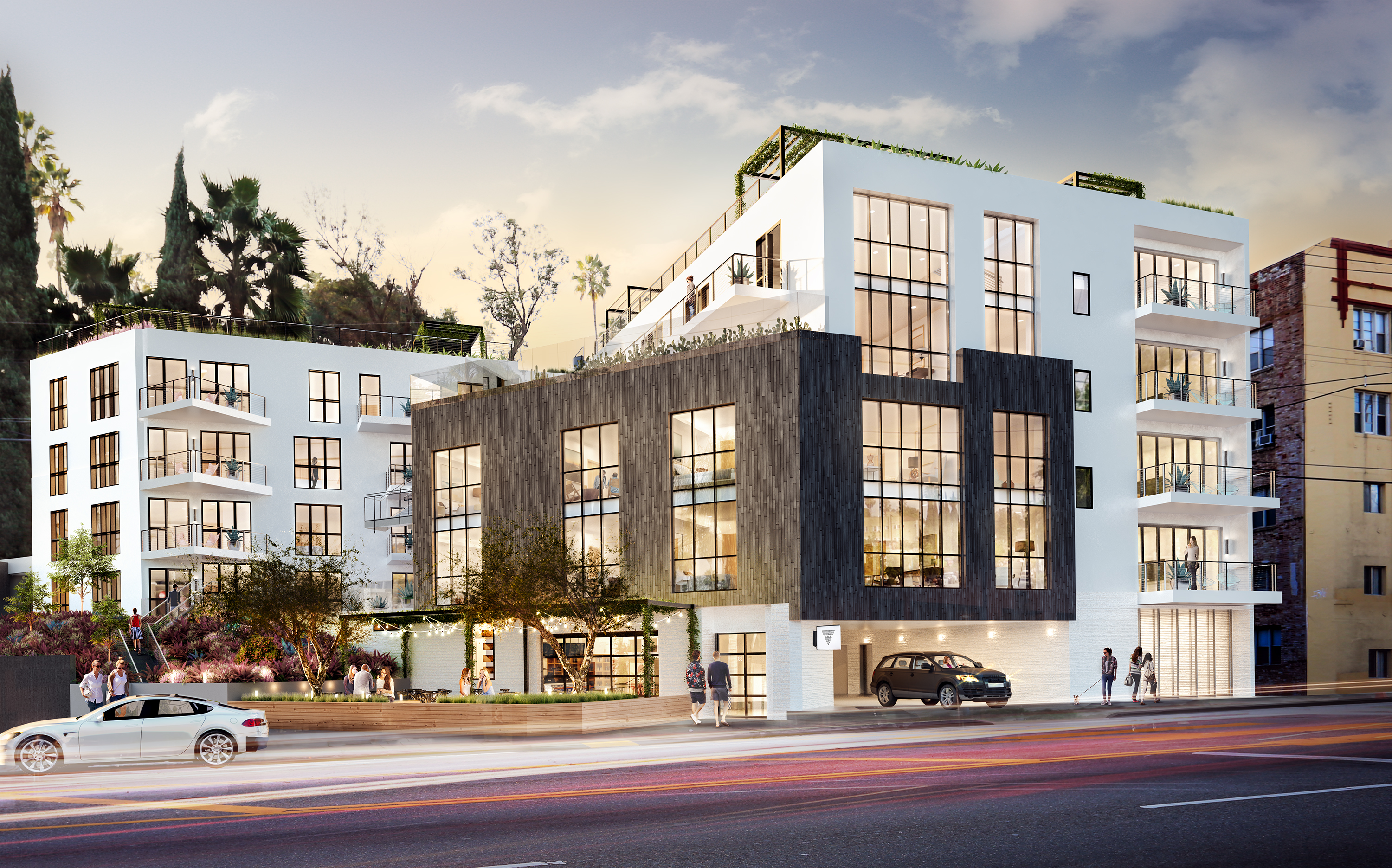 Attractive First Look At Silver Lake Condos Headed For Sunset Boulevard