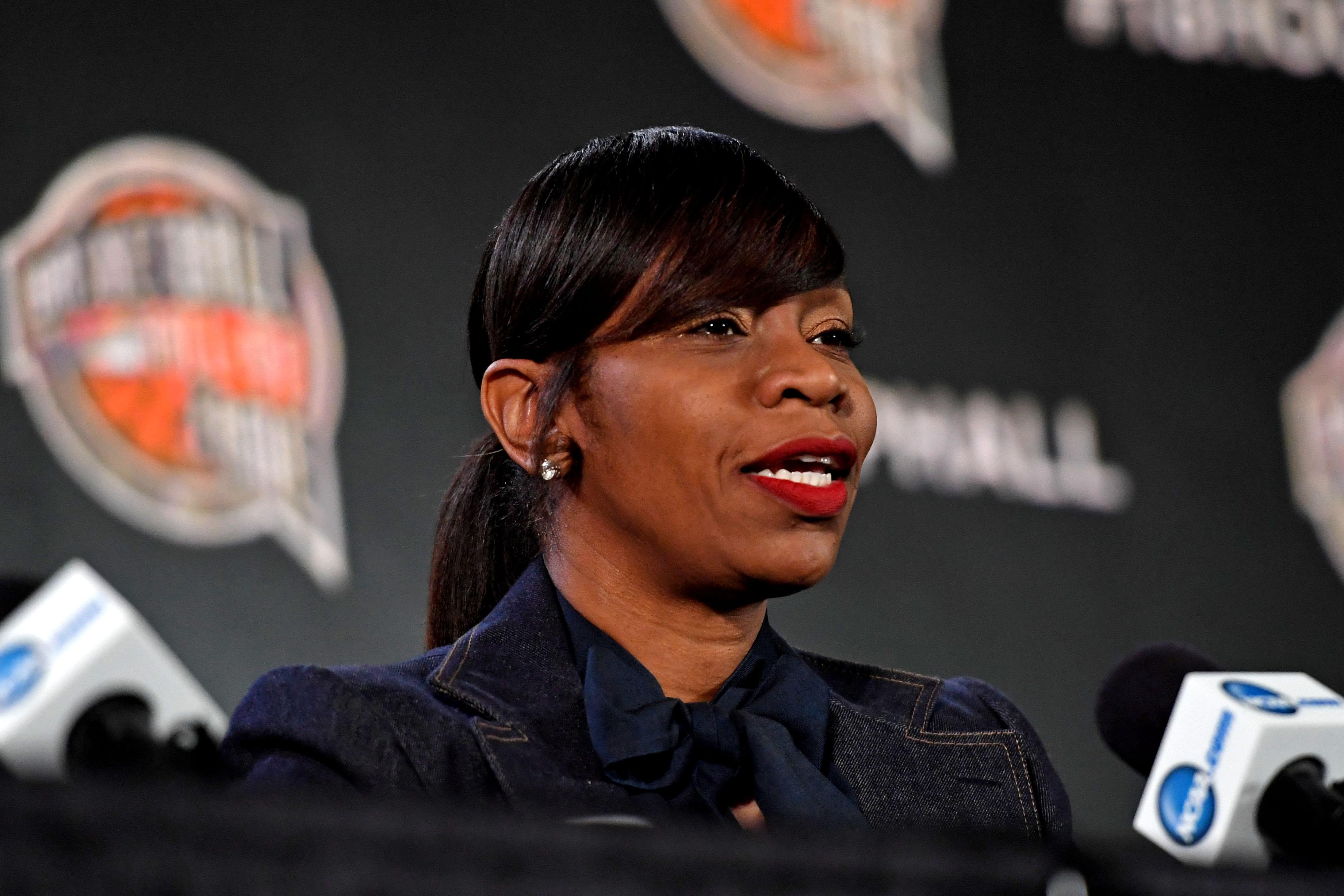 NCAA Basketball: Final Four-Hall of Fame Press Conference