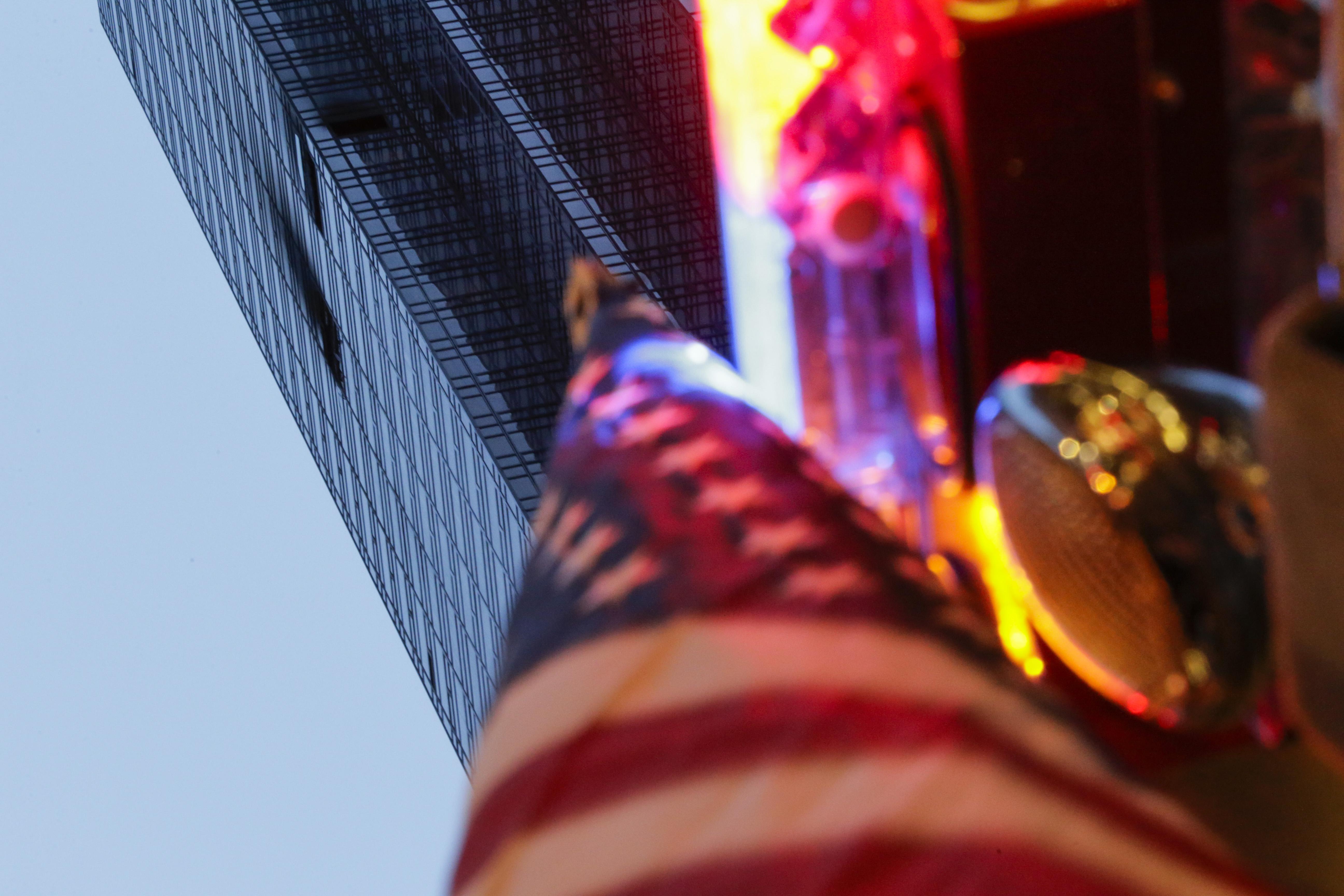 Fire Blazes On 50th Floor Of Trump Tower