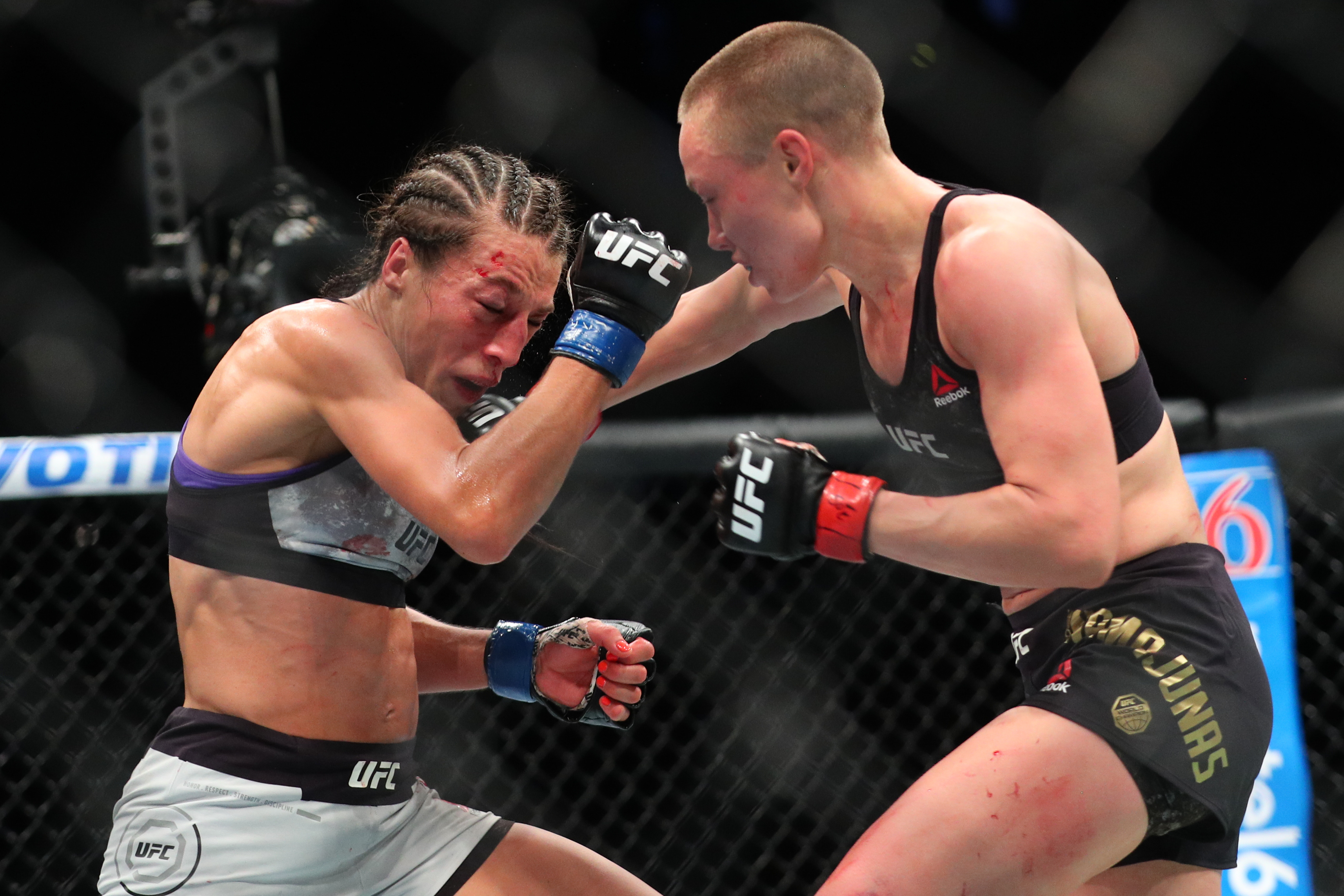 00f8534545fd Jedrzejczyk  Dana White  Disgusted  By UFC 223 Scorecards