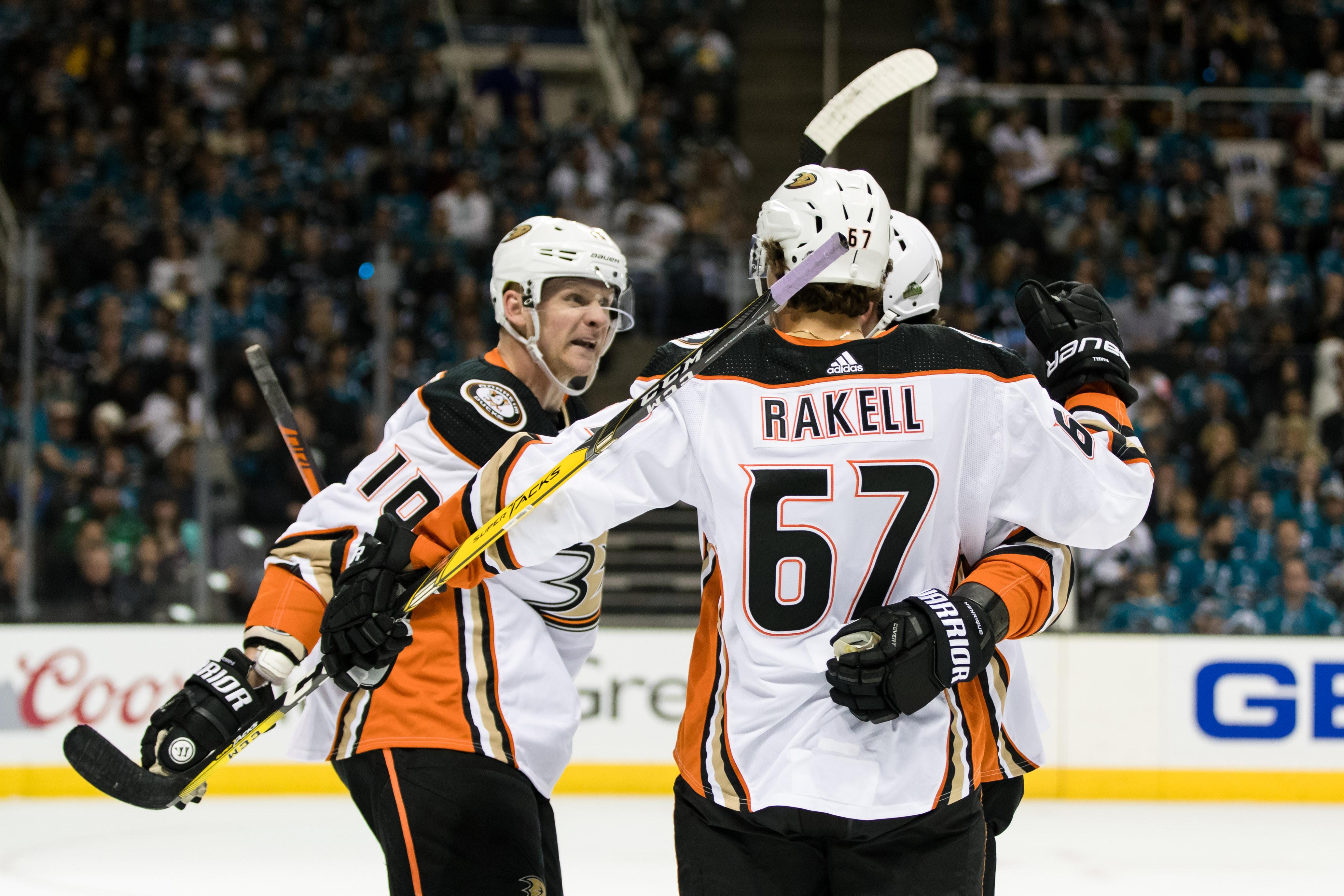 NHL: Stanley Cup Playoffs-Anaheim Ducks at San Jose Sharks