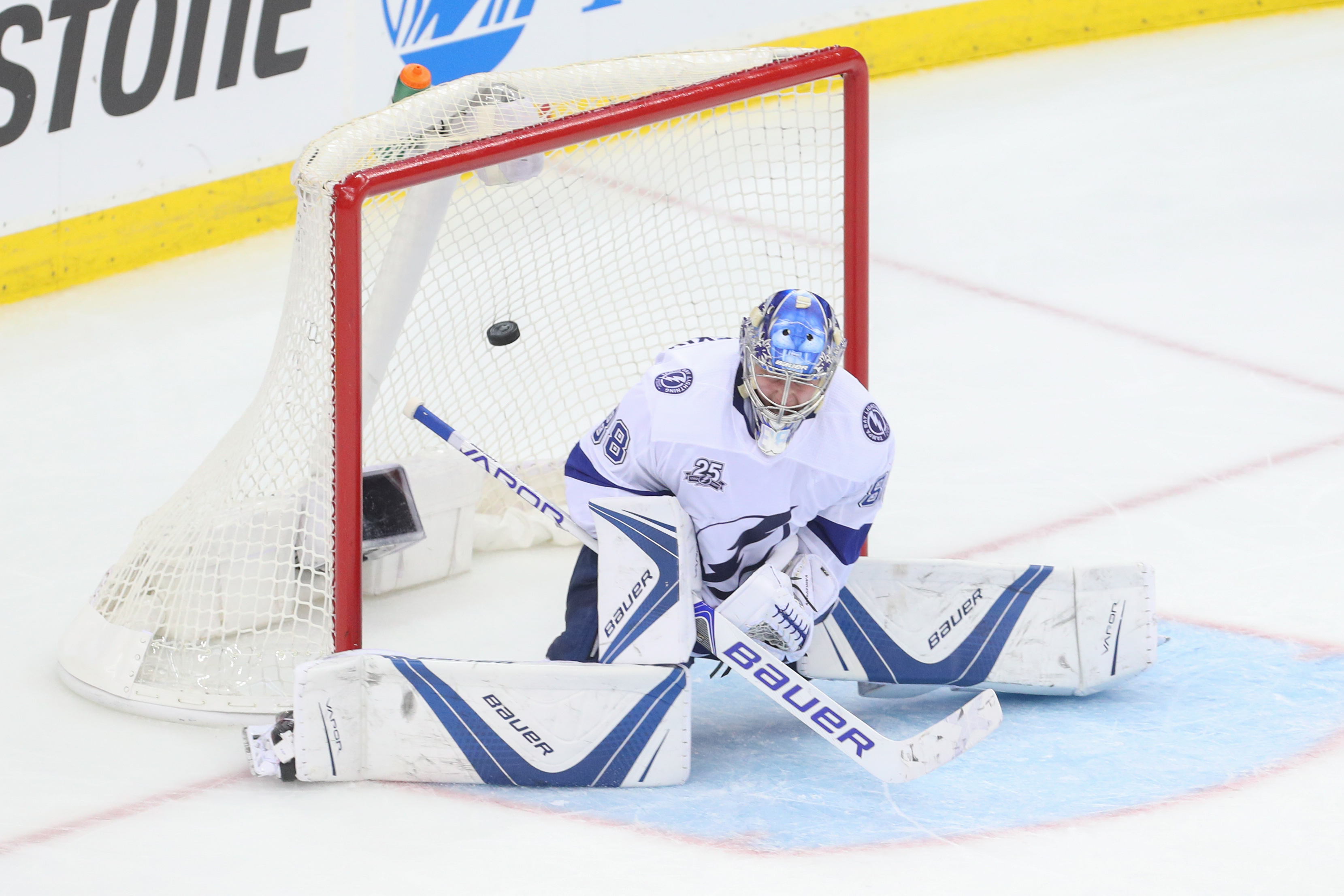 NHL: Stanley Cup Playoffs-Tampa Bay Lightning at New Jersey Devils