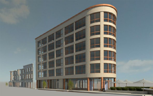 Proposed South Boston Apartment Building Across From T Would Not Include  Parking