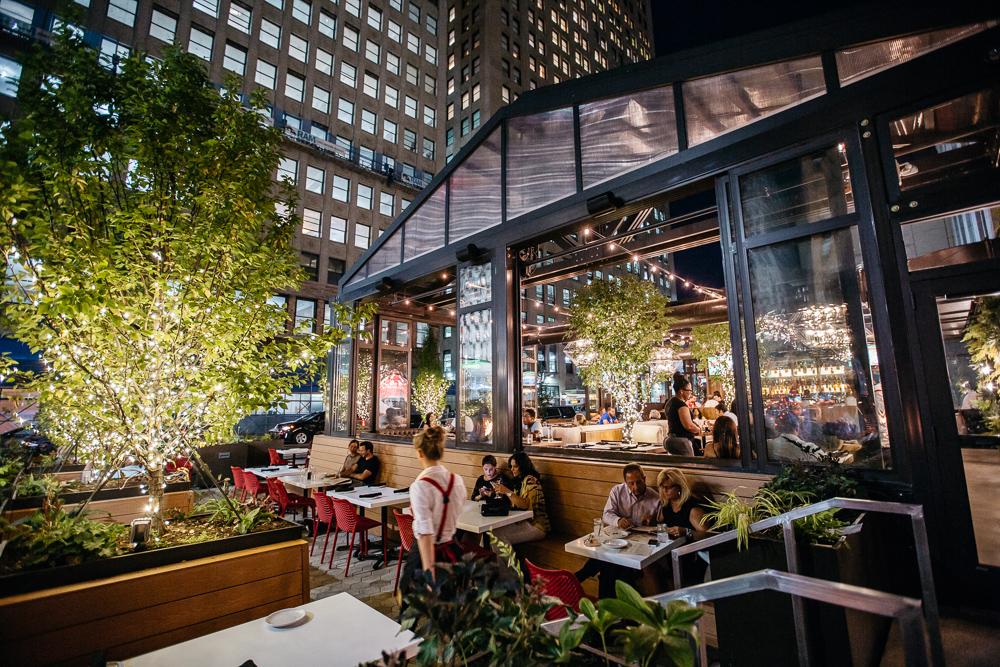 Inside Townhouse, A Greenhouse-Style Whiskey Temple In Downtown Detroit