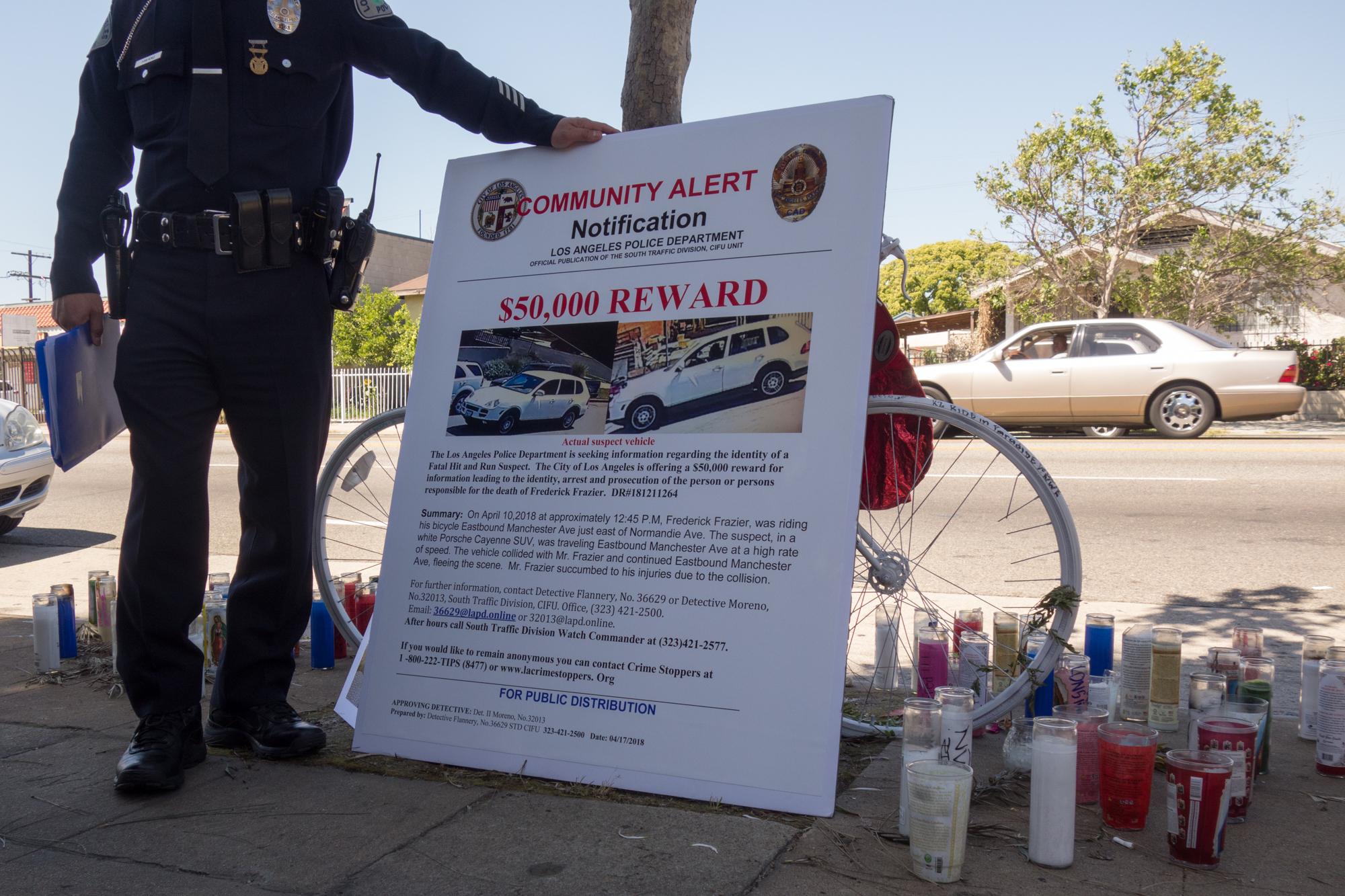 Traffic deaths mount in South LA following death of