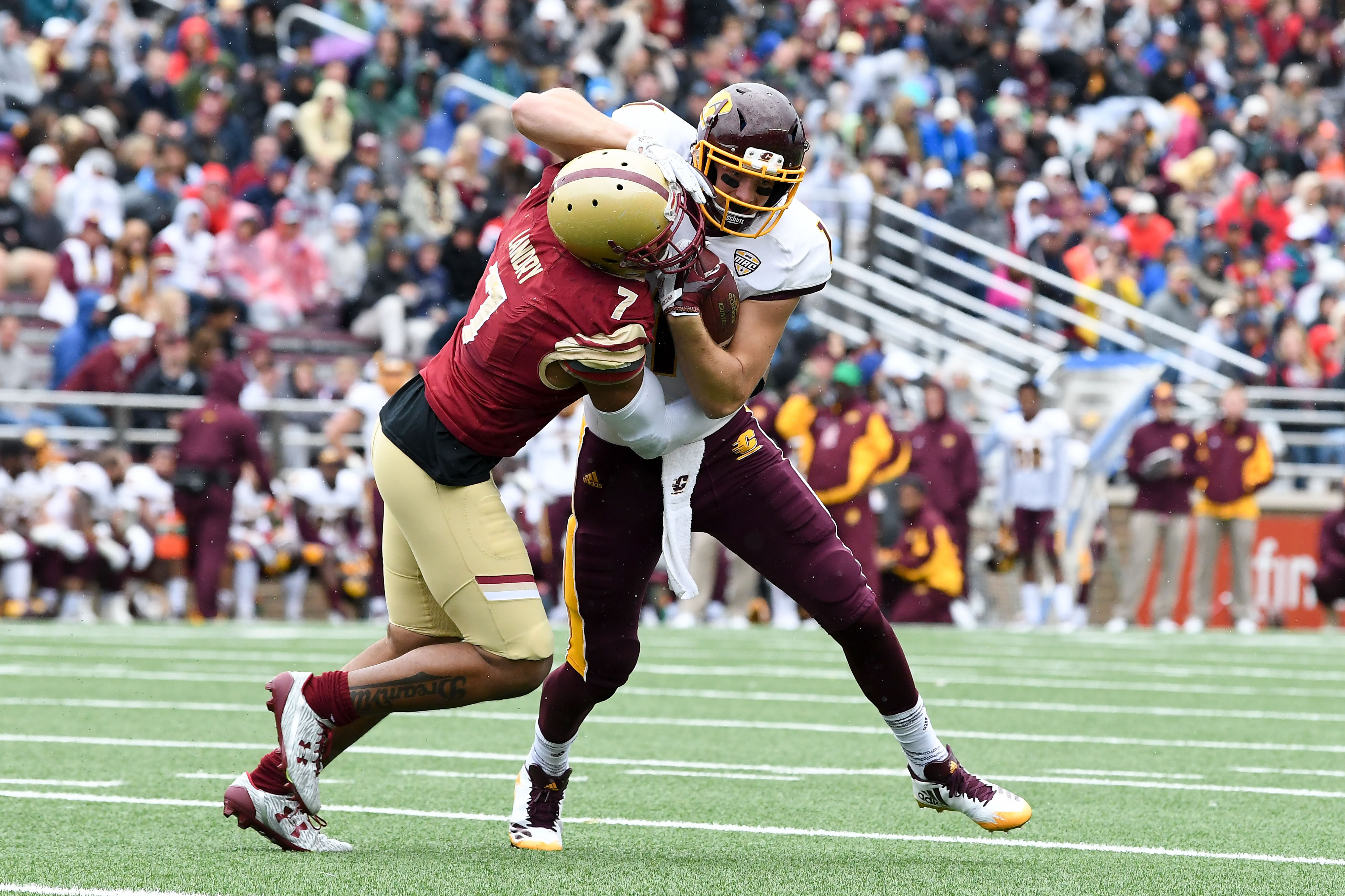 NCAA Football: Central Michigan at Boston College