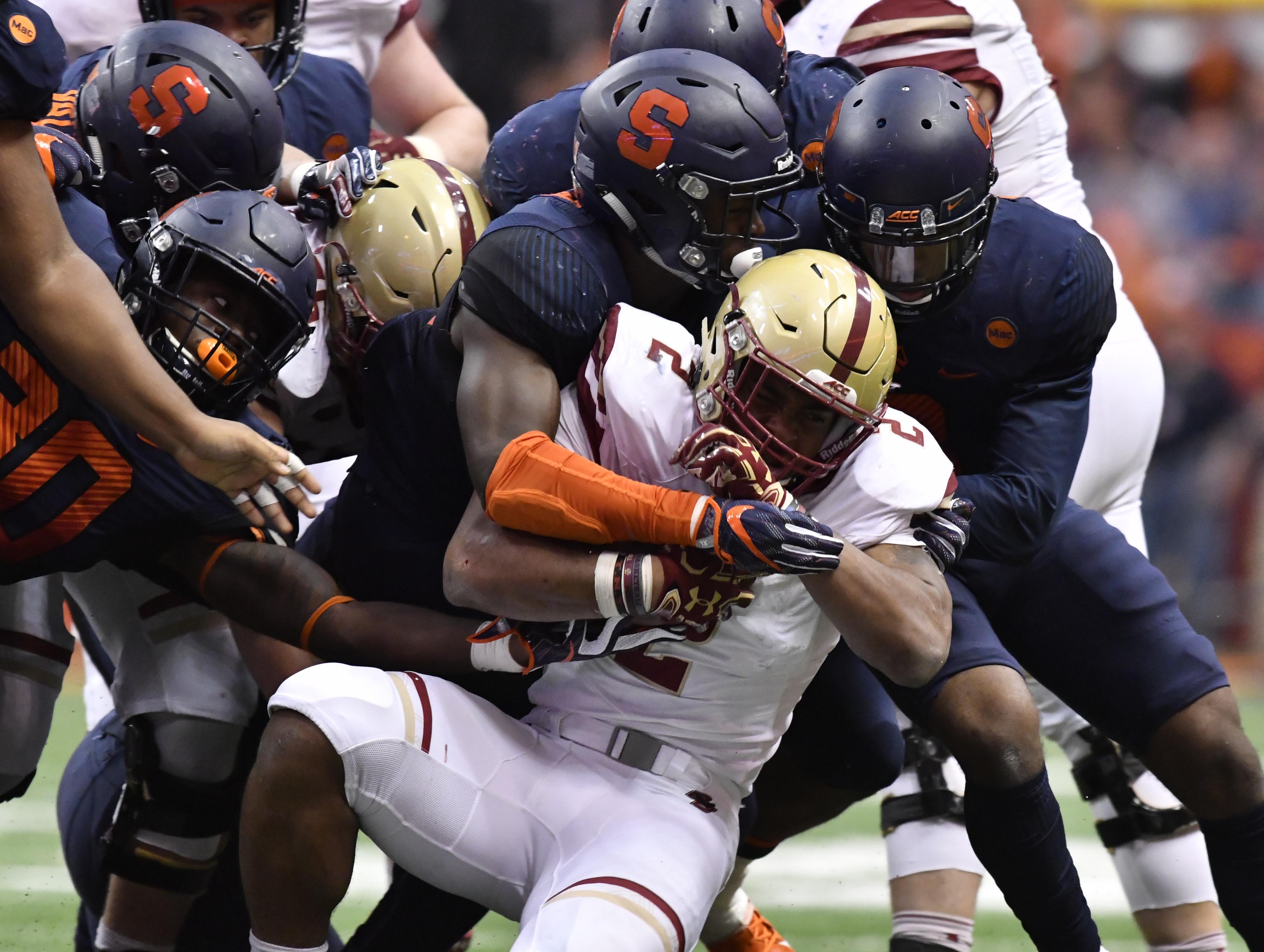 NCAA Football: Boston College at Syracuse