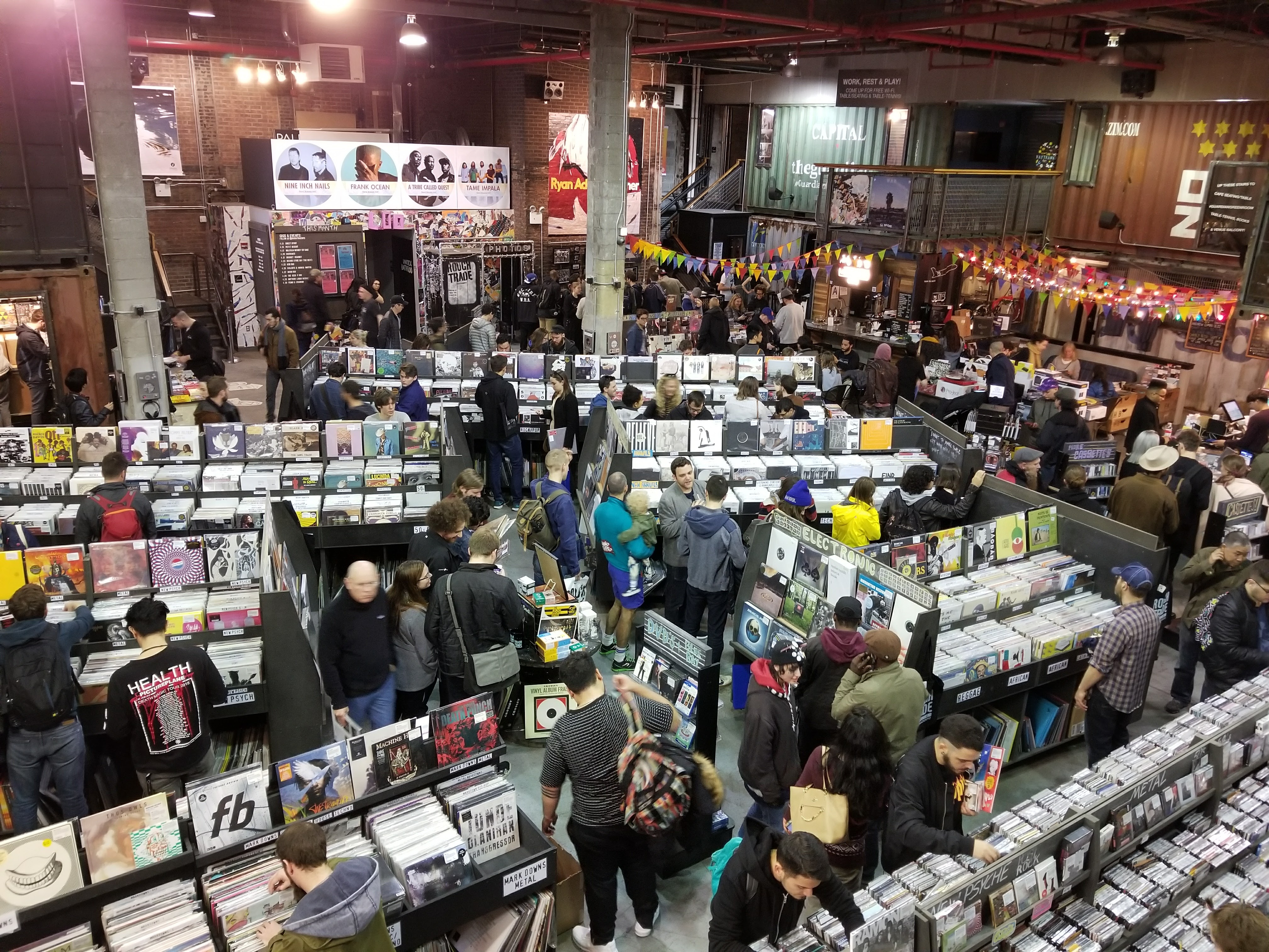 The best record stores in NYC, mapped