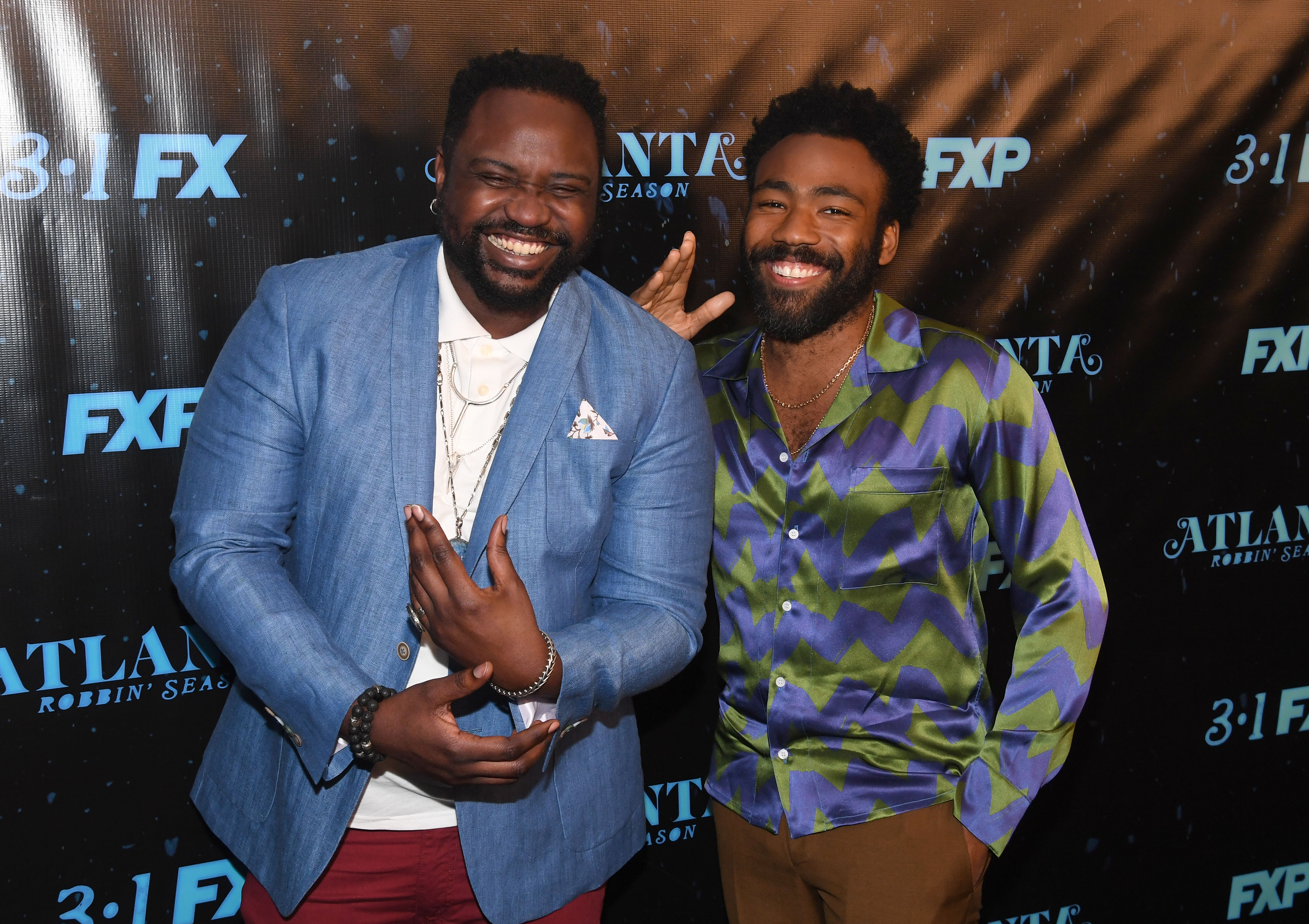 Bryan Tyree Henry and Donald Glover
