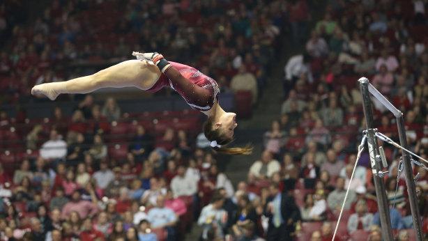 """<p zoompage-fontsize=""""15"""">Alabama Gymnastics"""
