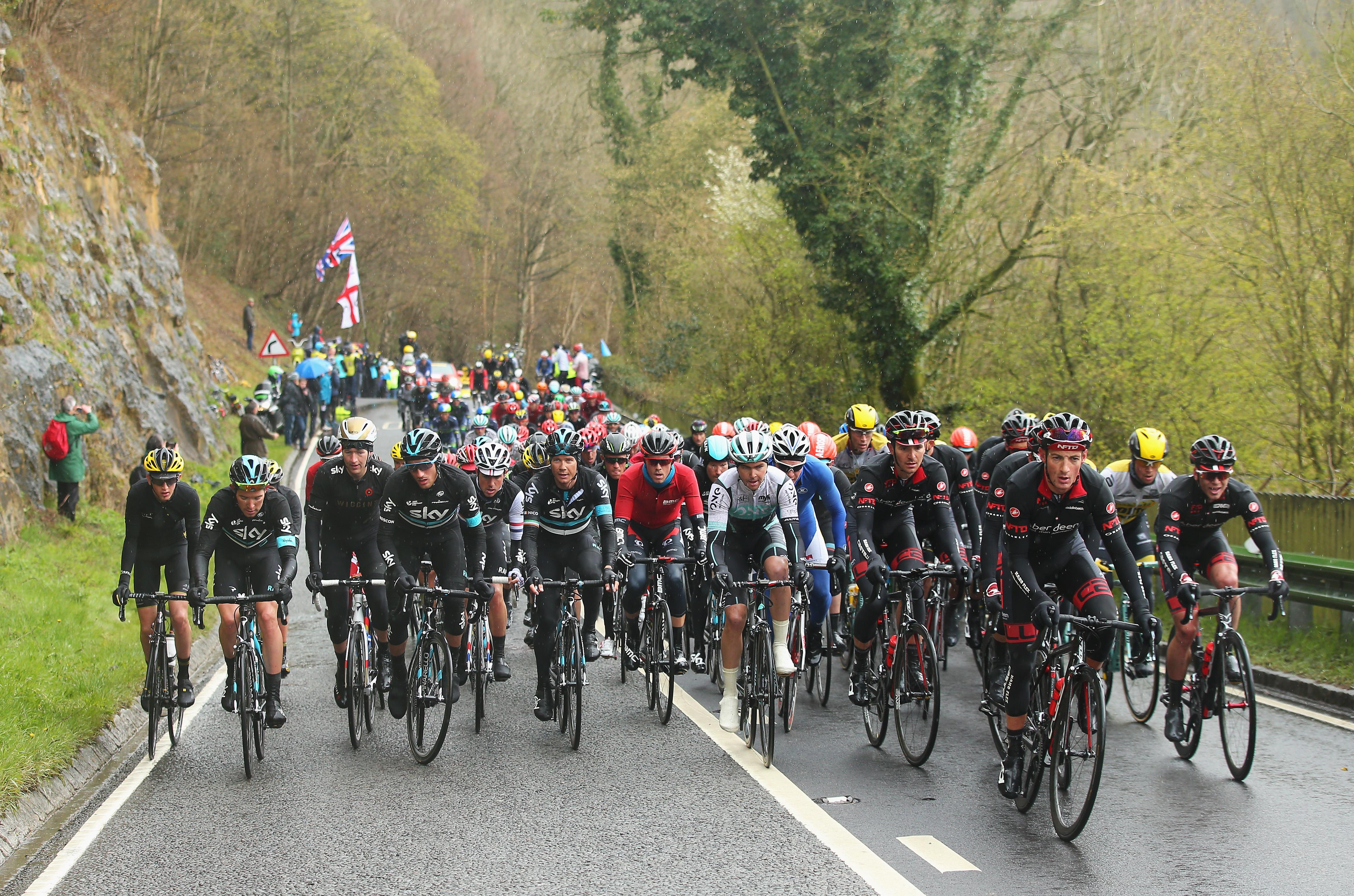 The Tour de Yorkshire 2016, Sutton Bank