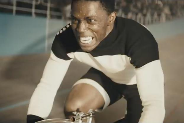 Marshall 'Major' Taylor, as depicted by Melvyn Akins in Hennessy's Wild Rabbit campaign