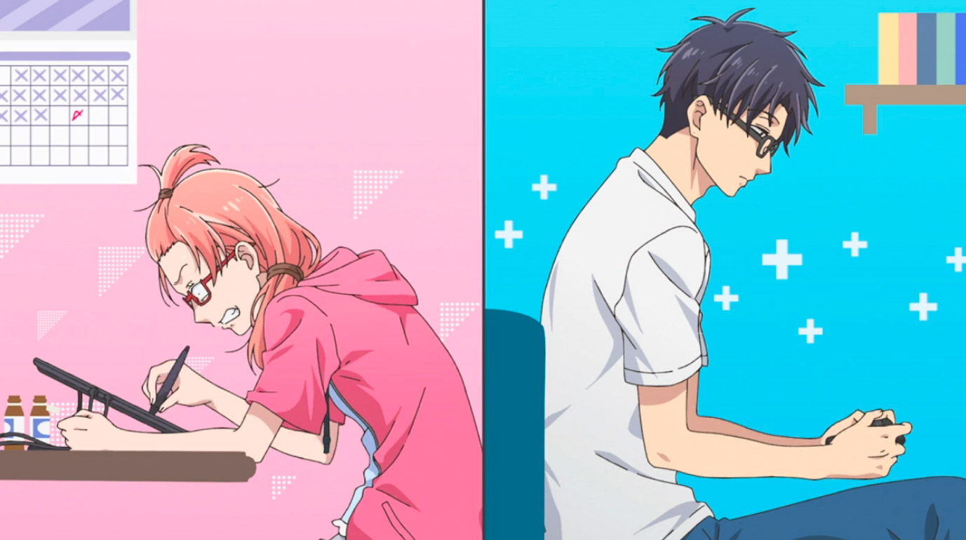 Anime and gaming nerds star in this season's must-watch romance series