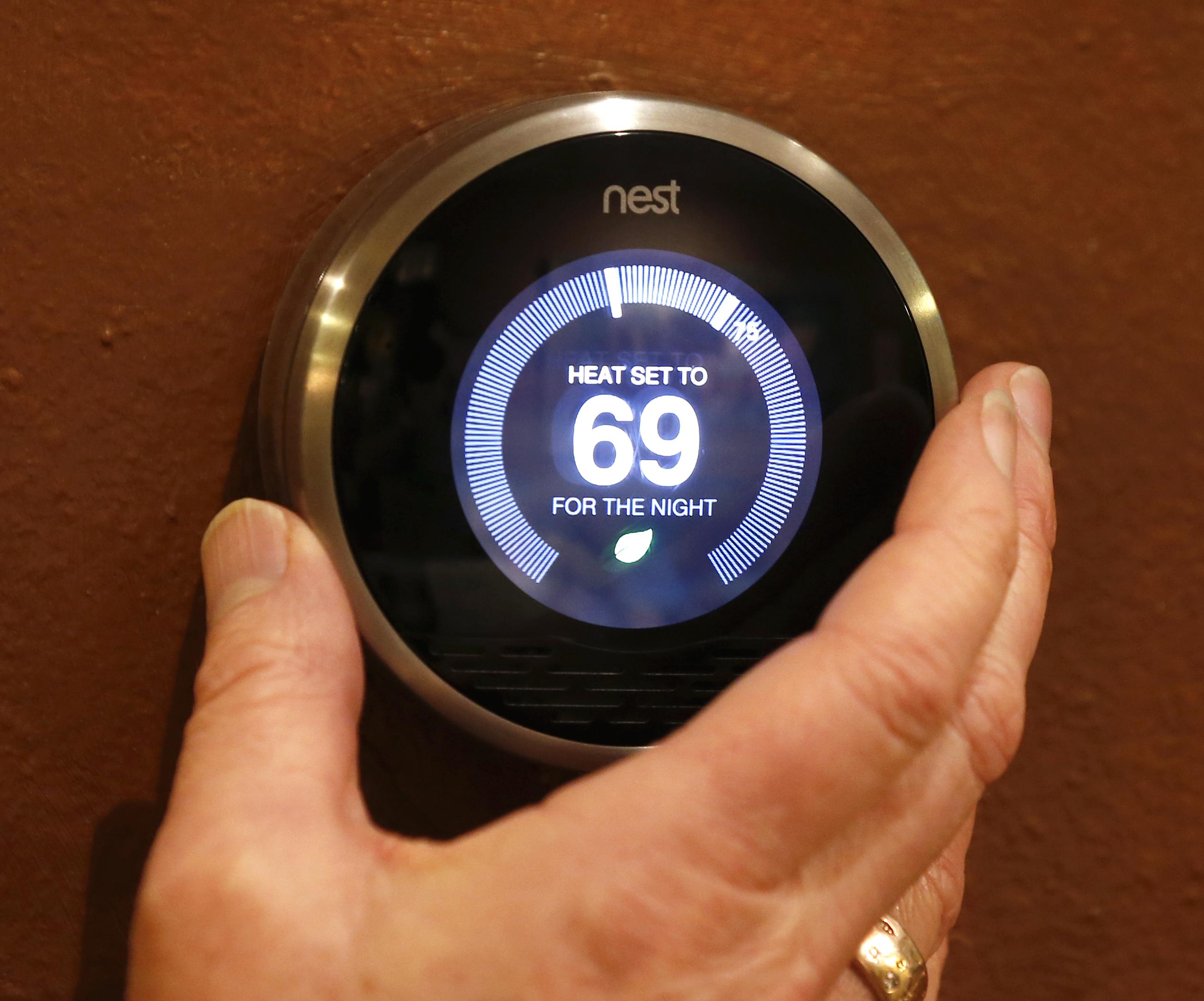 Smart thermostat Nest