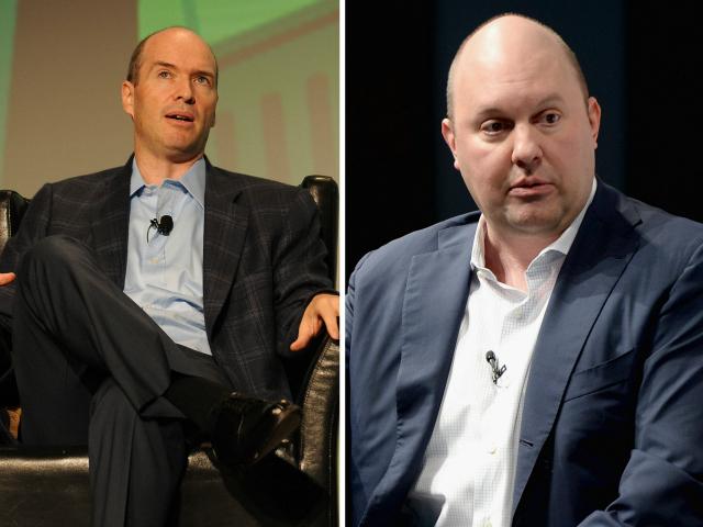Ben Horowitz and Marc Andreessen