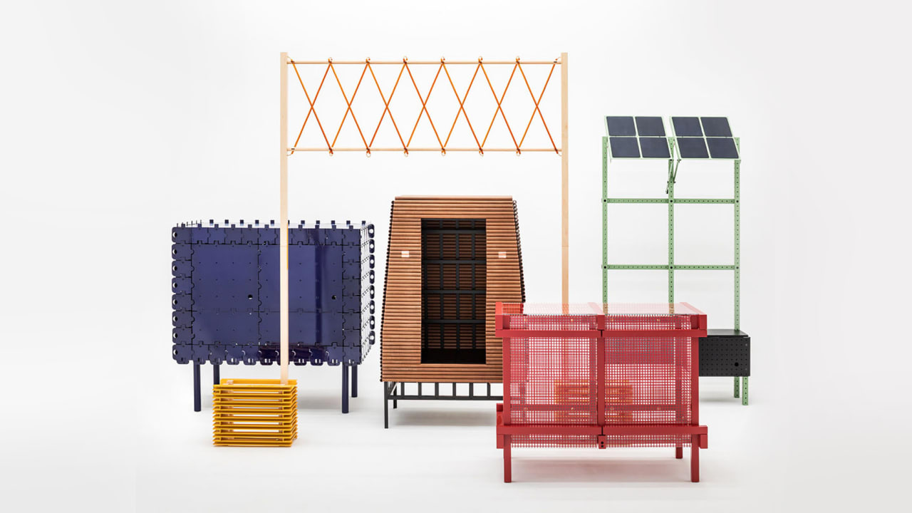 This Interactive Furniture Line Runs On Solar Power