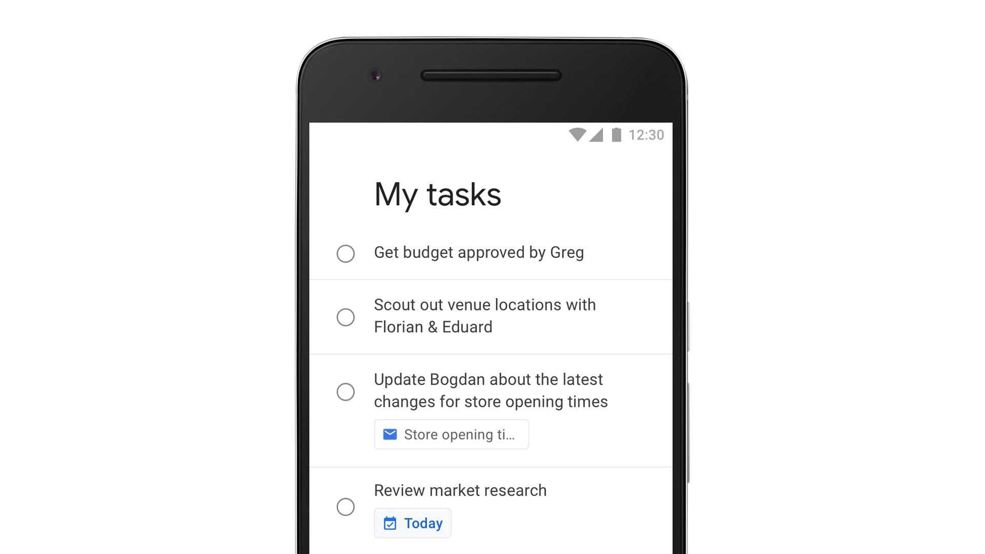 Google is finally making a standalone Tasks app