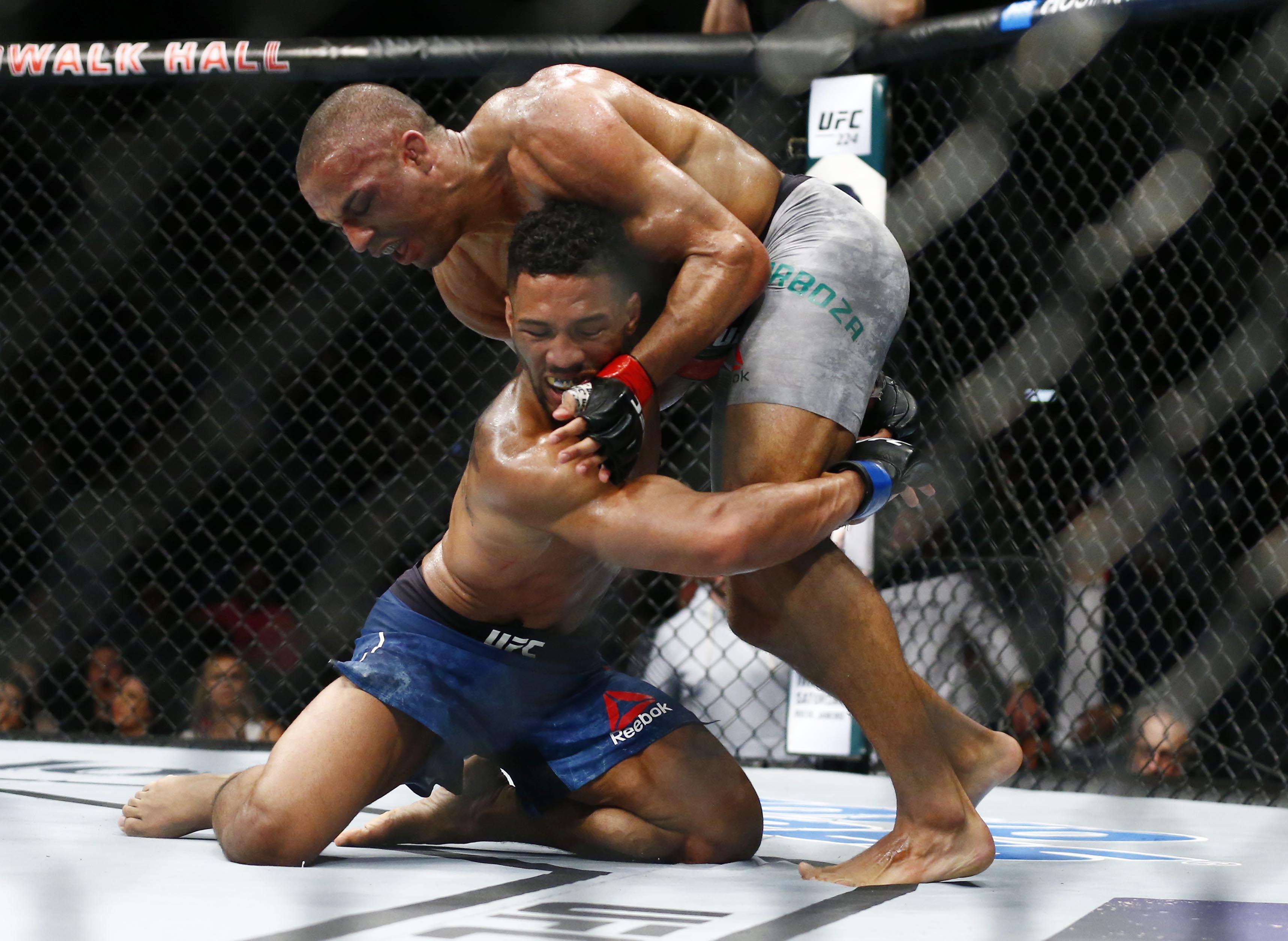MMA: UFC Fight Night-Barboza vs Lee