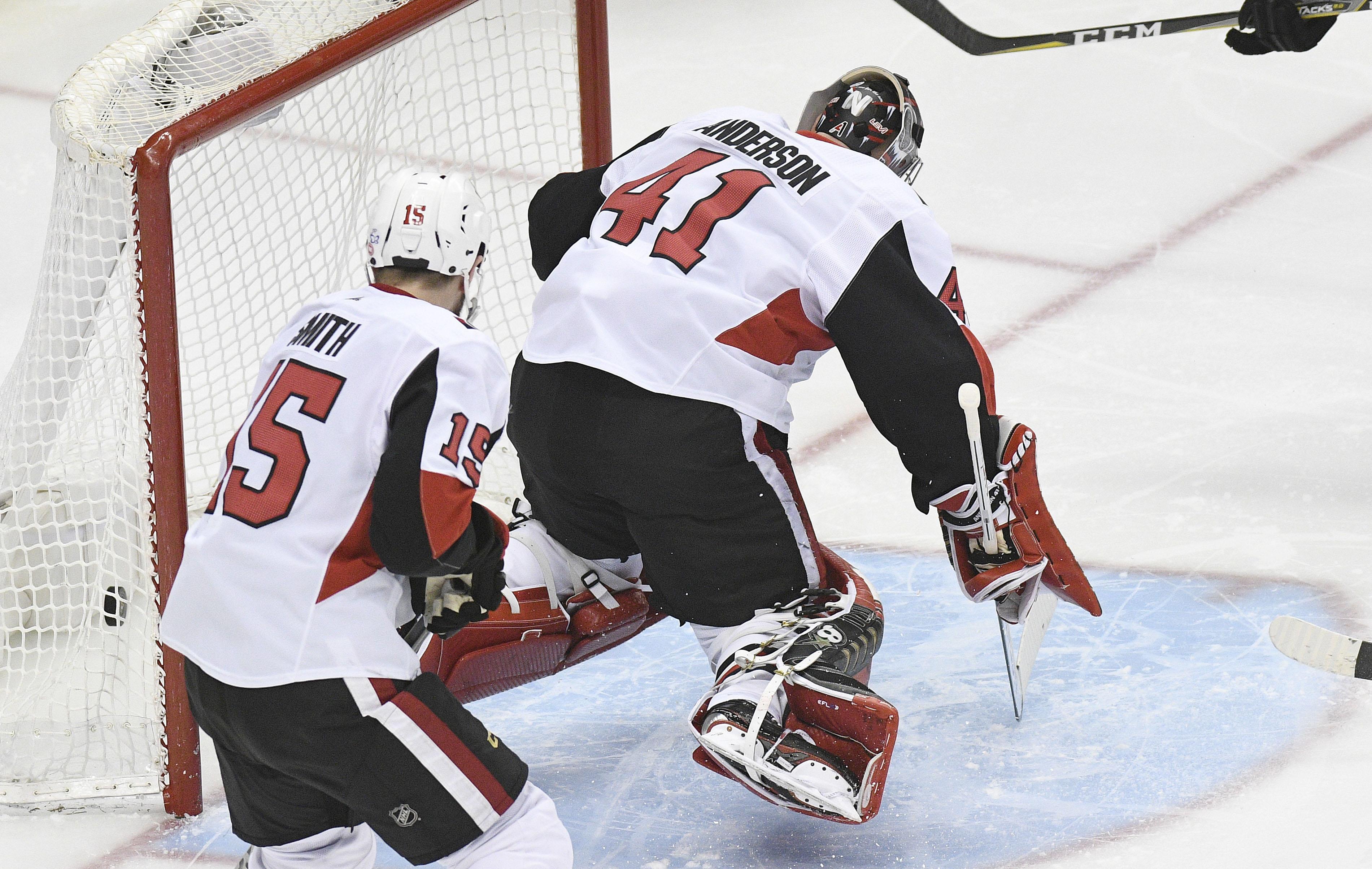 NHL: Ottawa Senators at Pittsburgh Penguins
