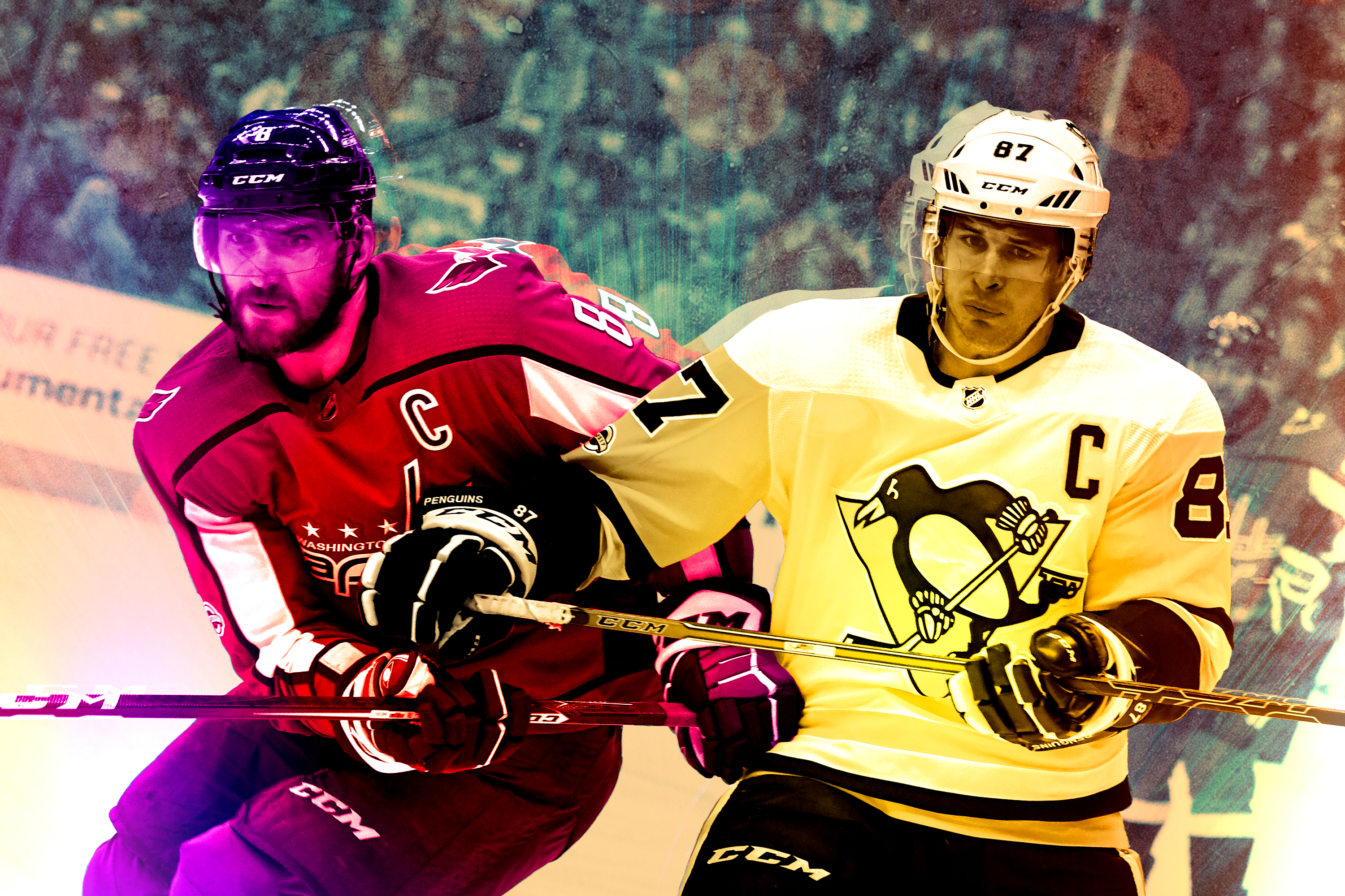 Capitals-Penguins Playoff Series