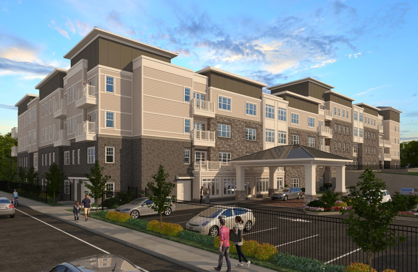 A rendering of The Legacy at Vine City.