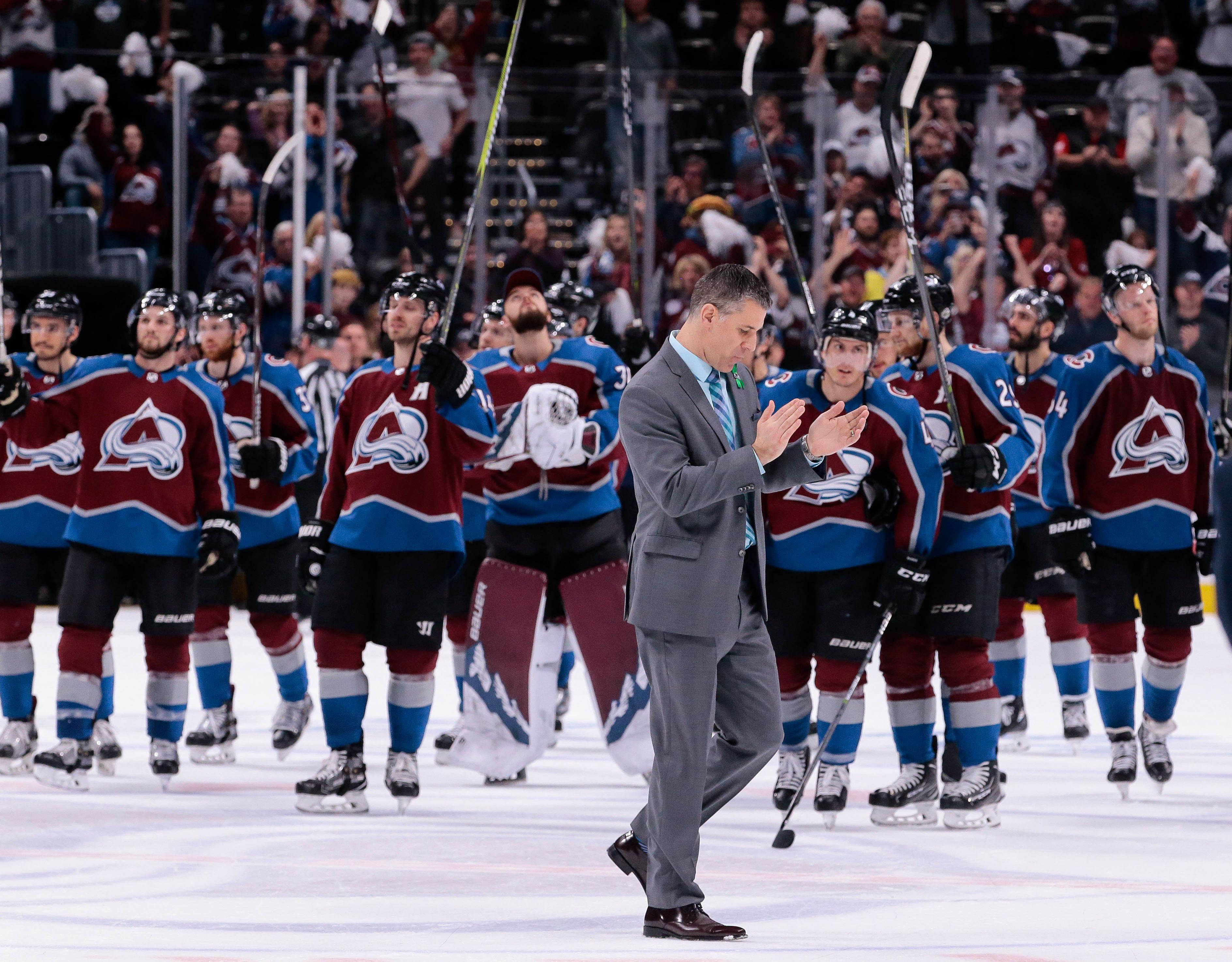 NHL: Stanley Cup Playoffs-Nashville Predators at Colorado Avalanche