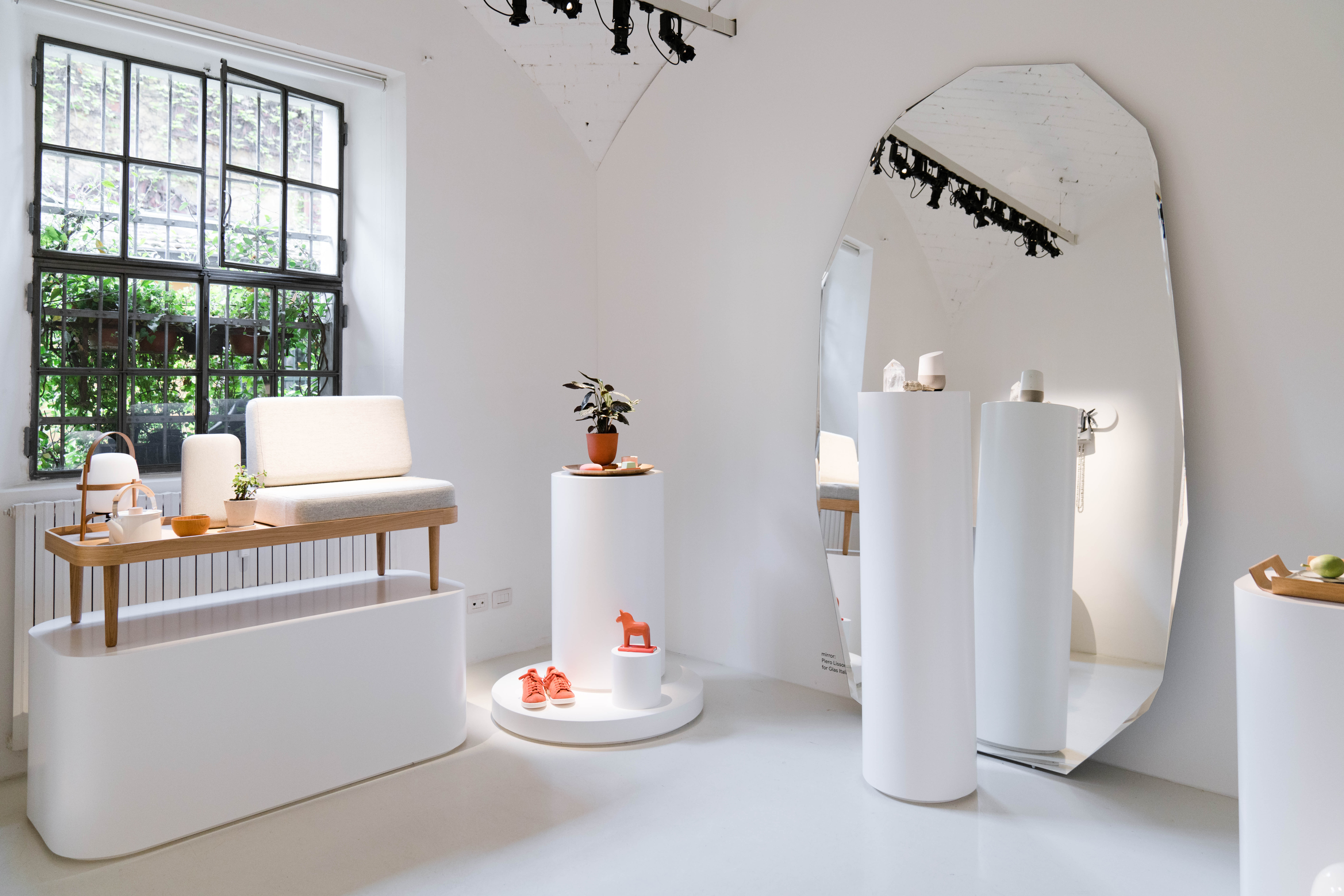 "Google's ""Softwear"" exhibition at Salone."